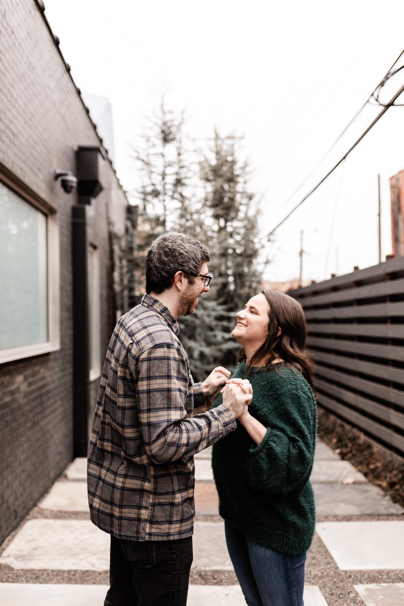 Seamus + Lauren | Modern Downtown Engagements | Oklahoma Wedding Photographer-33.jpg