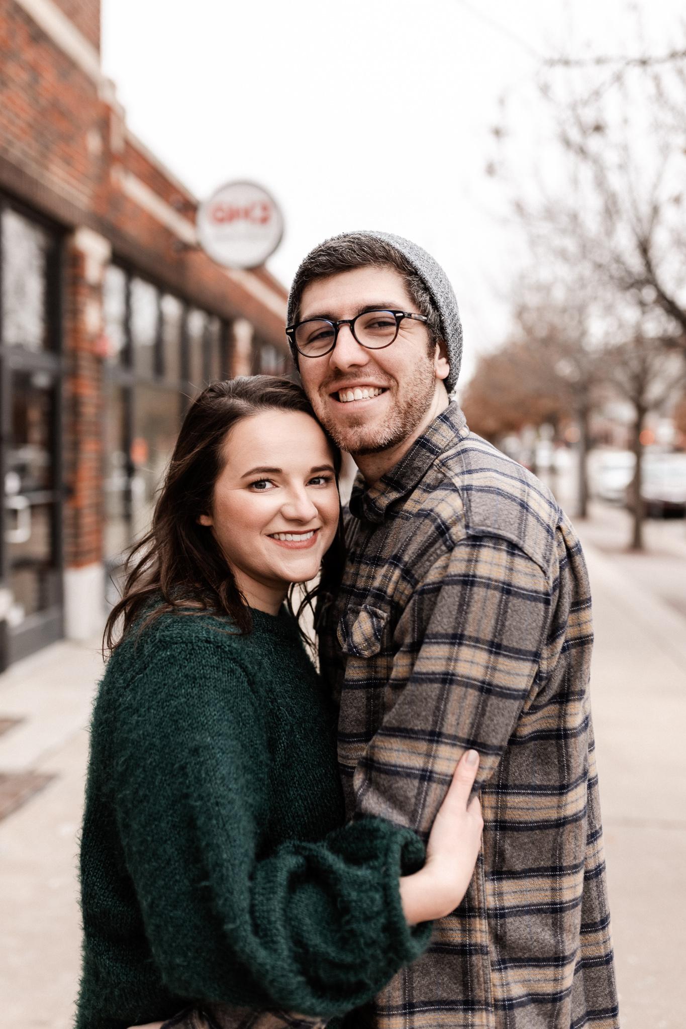 Seamus + Lauren | Modern Downtown Engagements | Oklahoma Wedding Photographer-41.jpg