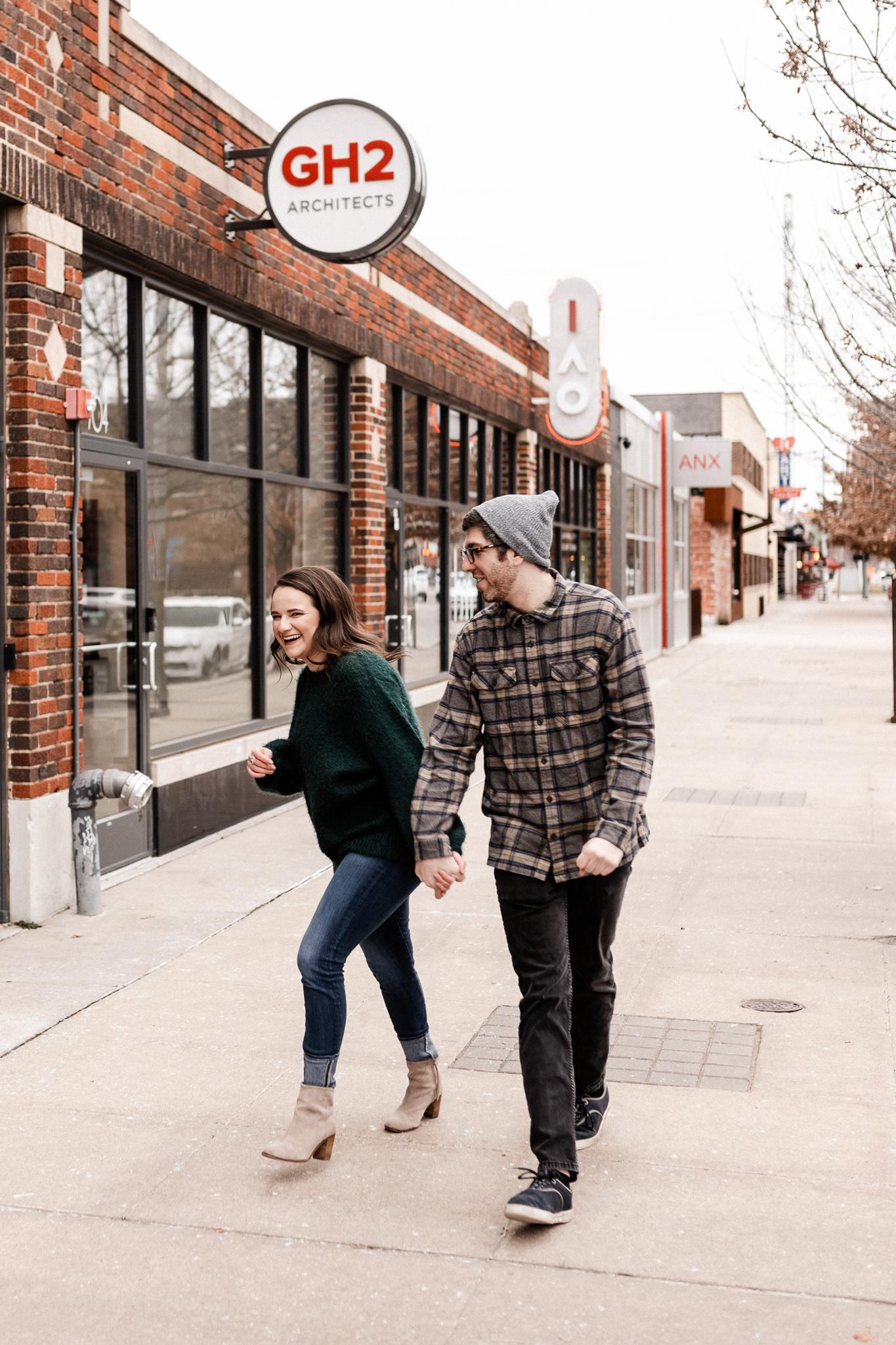 Seamus + Lauren | Modern Downtown Engagements | Oklahoma Wedding Photographer-40.jpg