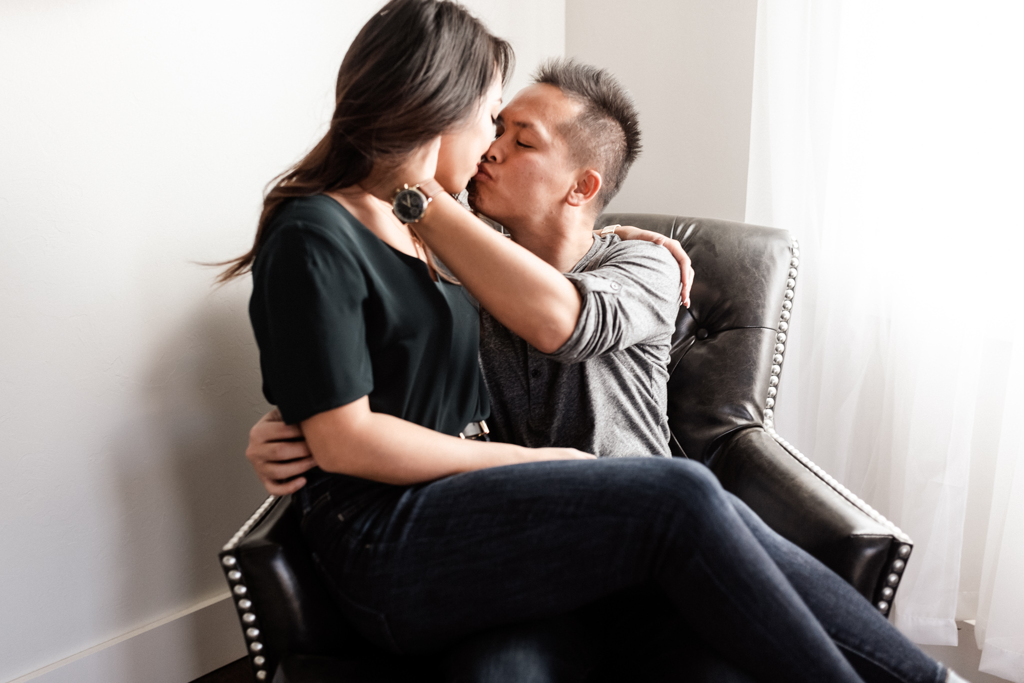 Hieu + Teresa | Colorful Romantic Downtown Engagements | Oklahoma Wedding Photographer-2.jpg