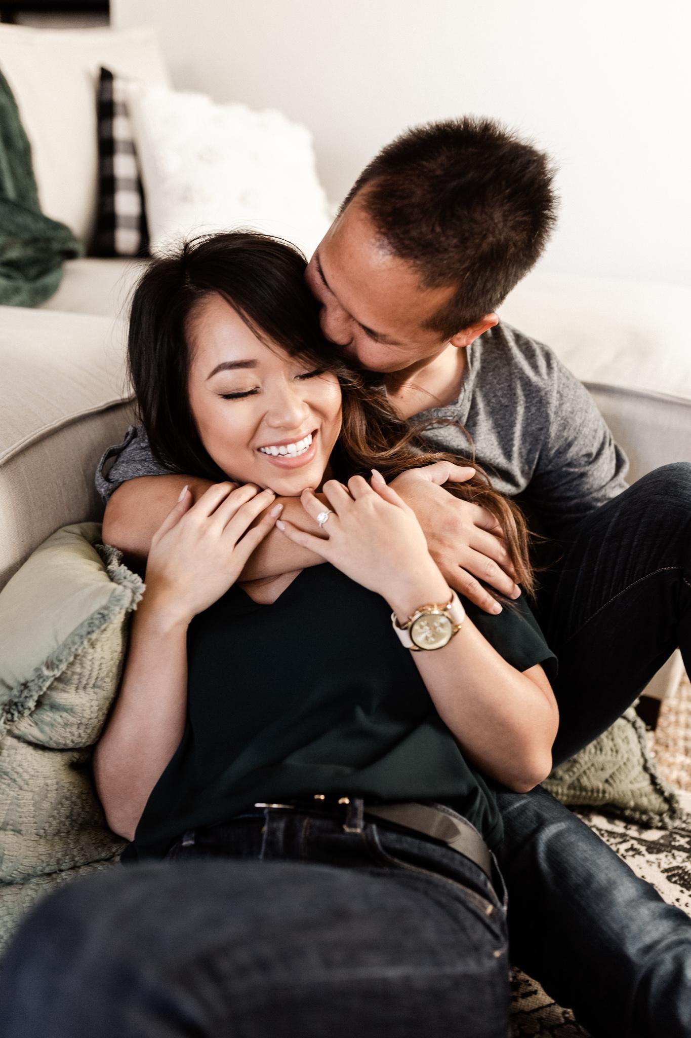 Hieu + Teresa | Colorful Romantic Downtown Engagements | Oklahoma Wedding Photographer-6.jpg
