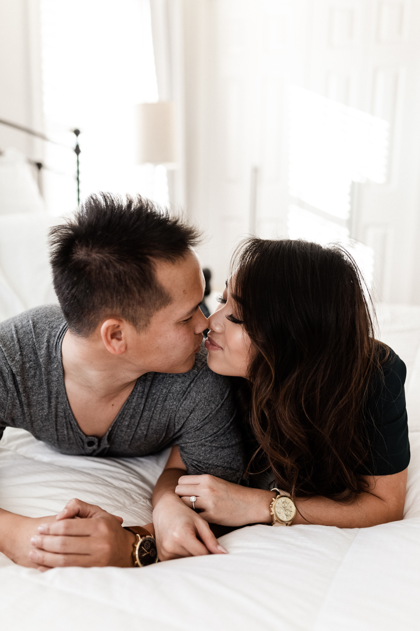 Hieu + Teresa | Colorful Romantic Downtown Engagements | Oklahoma Wedding Photographer-13.jpg