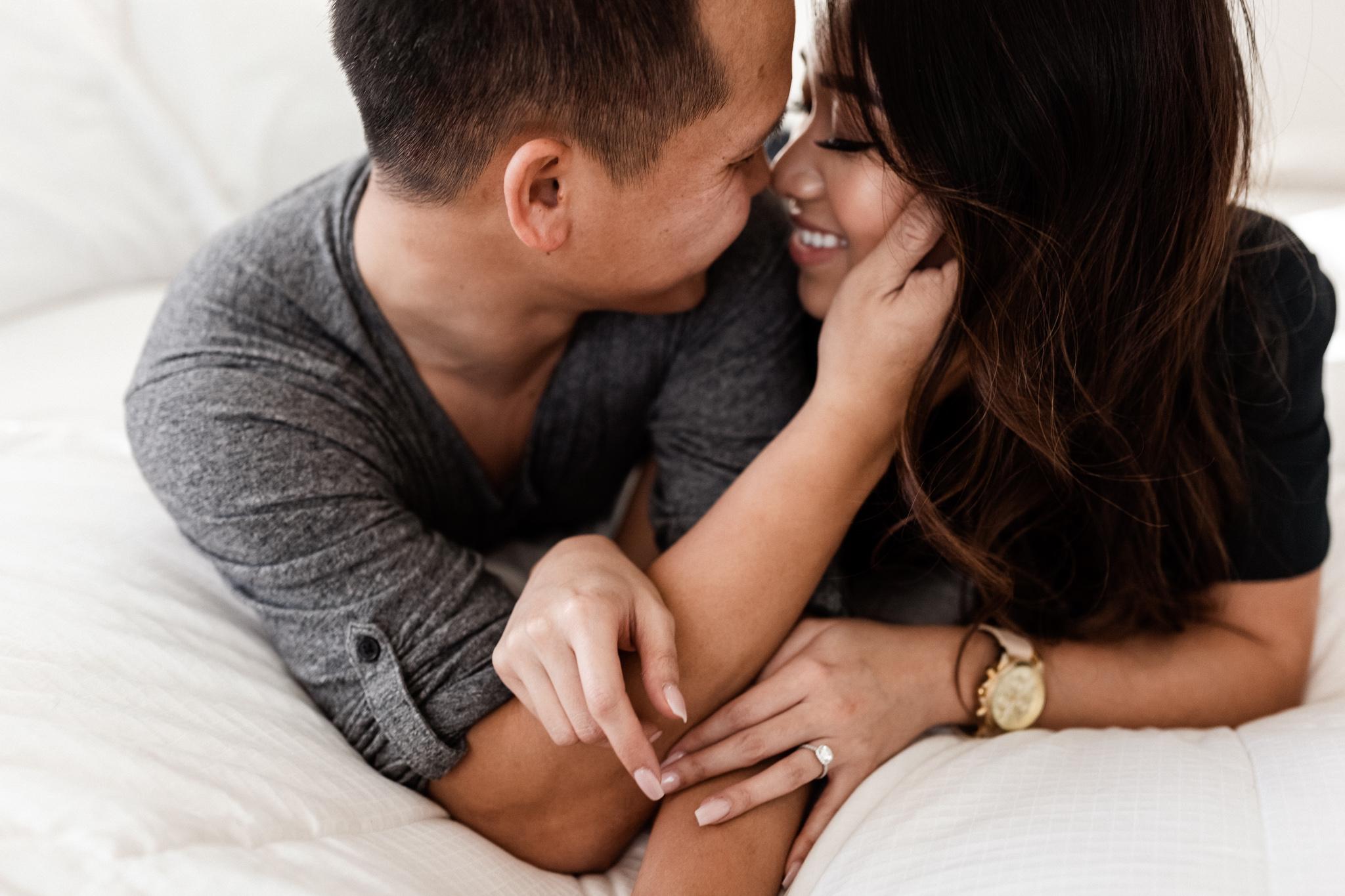 Hieu + Teresa | Colorful Romantic Downtown Engagements | Oklahoma Wedding Photographer-20.jpg