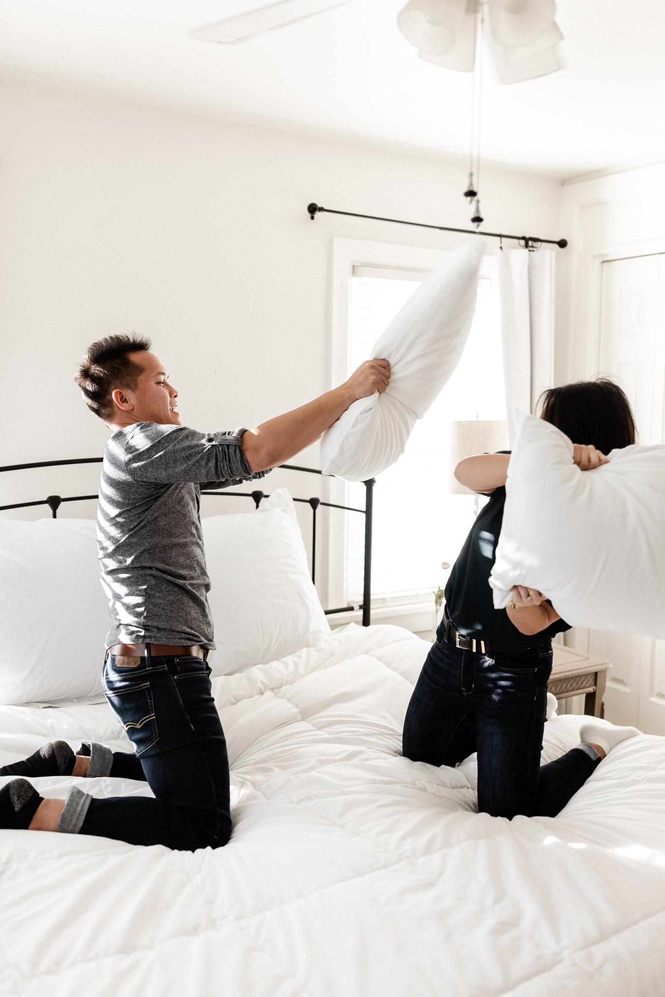 Hieu + Teresa | Colorful Romantic Downtown Engagements | Oklahoma Wedding Photographer-24.jpg
