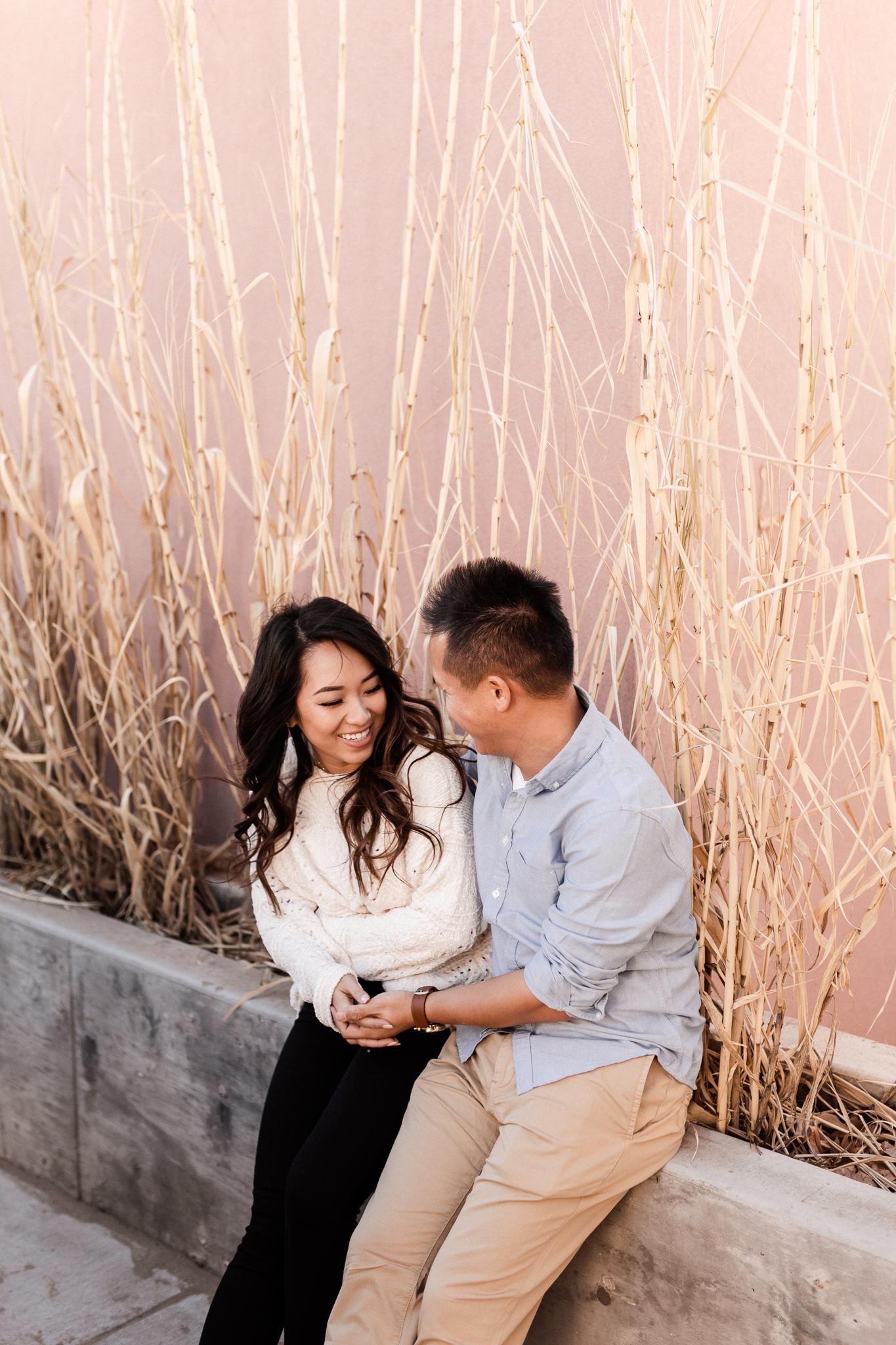 Hieu + Teresa | Colorful Romantic Downtown Engagements | Oklahoma Wedding Photographer-37.jpg