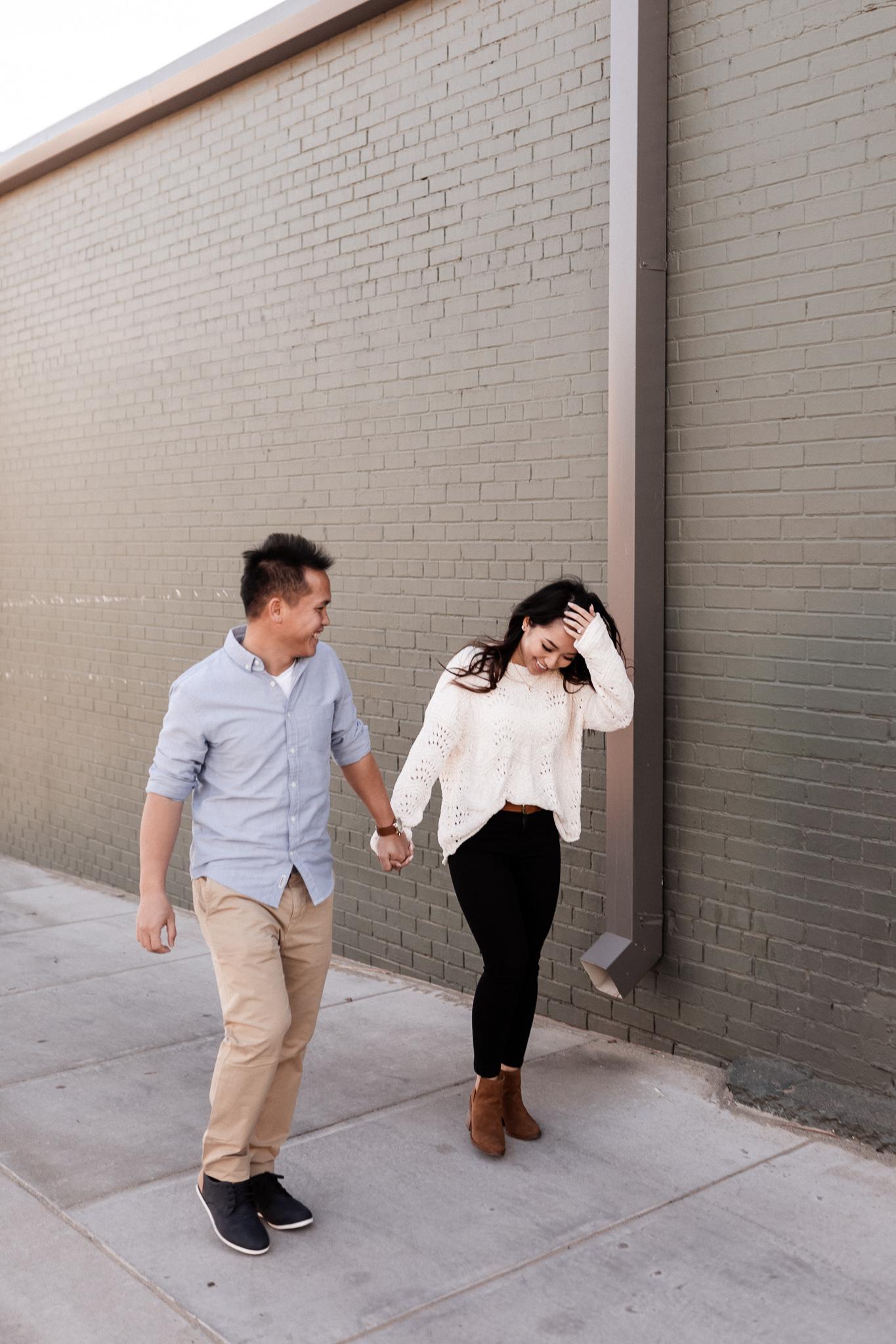 Hieu + Teresa | Colorful Romantic Downtown Engagements | Oklahoma Wedding Photographer-39.jpg