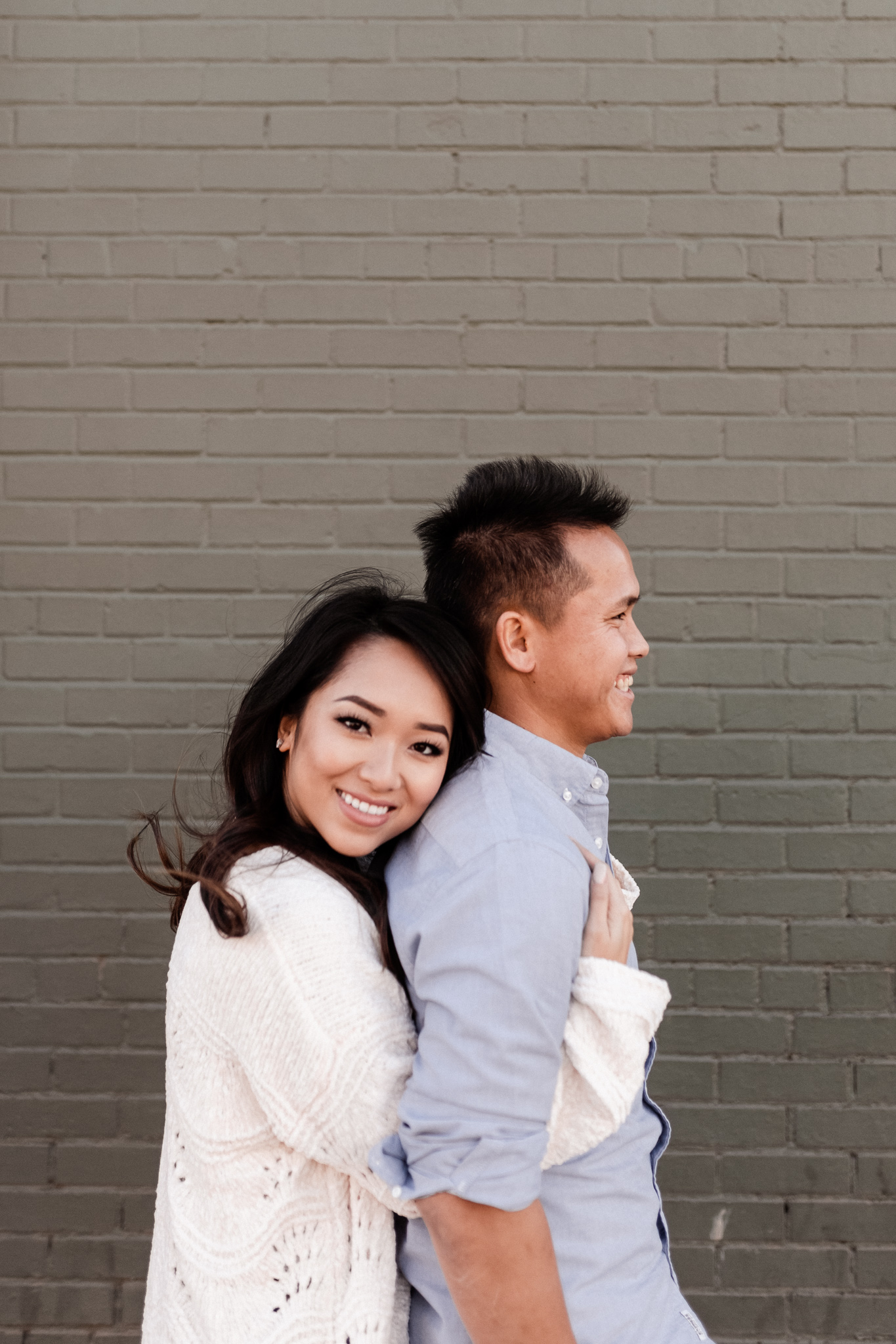 Hieu + Teresa | Colorful Romantic Downtown Engagements | Oklahoma Wedding Photographer-48.jpg
