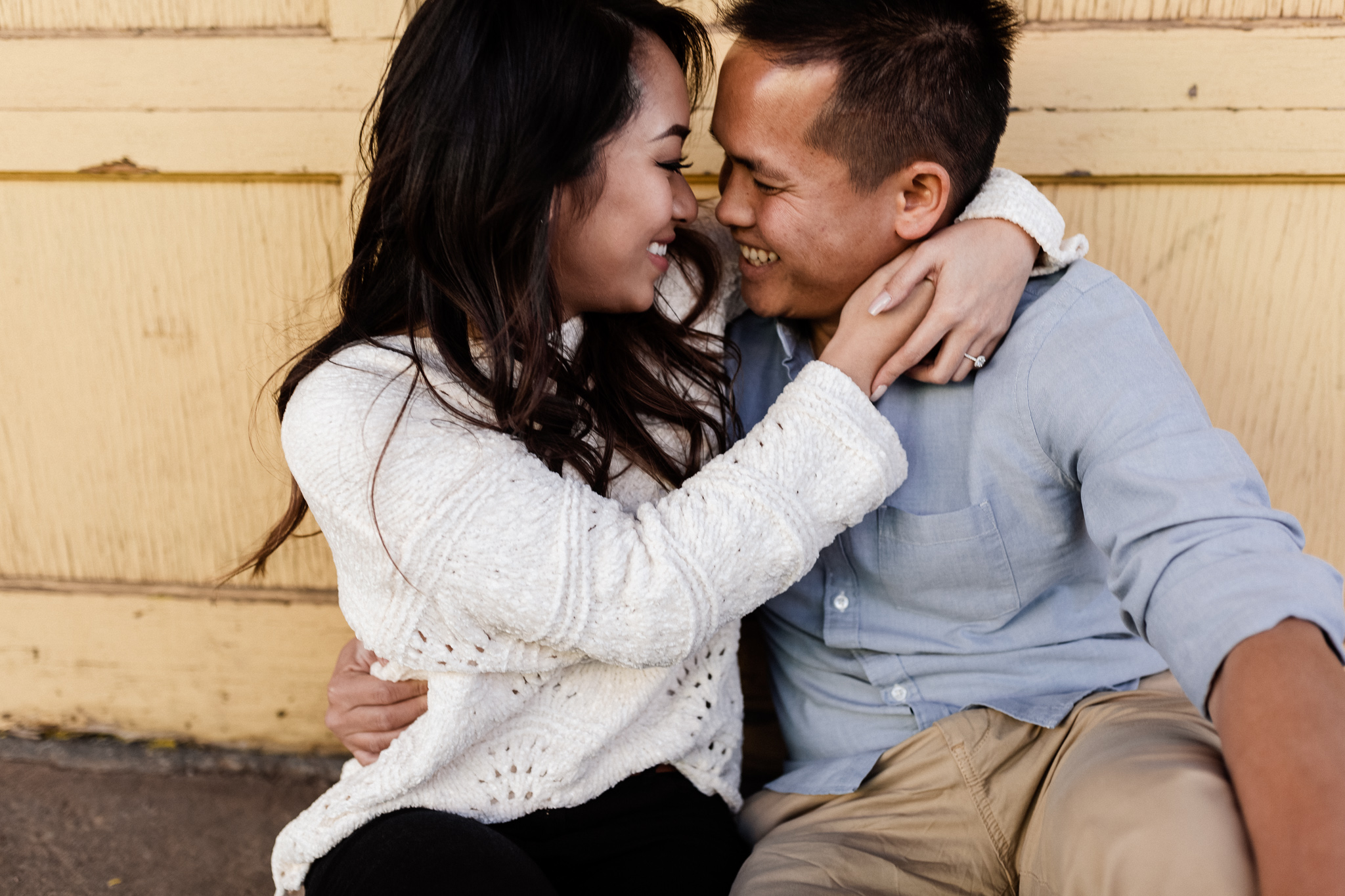 Hieu + Teresa | Colorful Romantic Downtown Engagements | Oklahoma Wedding Photographer-54.jpg