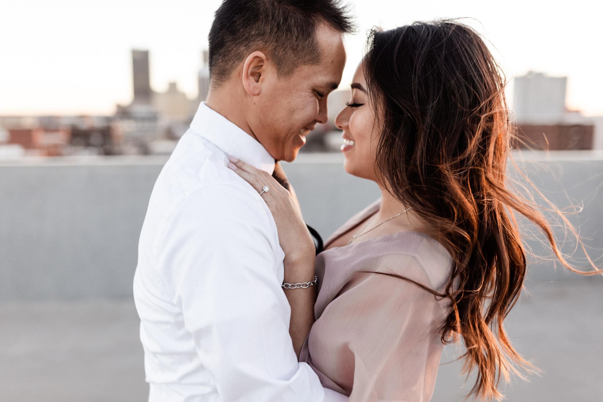 Hieu + Teresa | Colorful Romantic Downtown Engagements | Oklahoma Wedding Photographer-59.jpg
