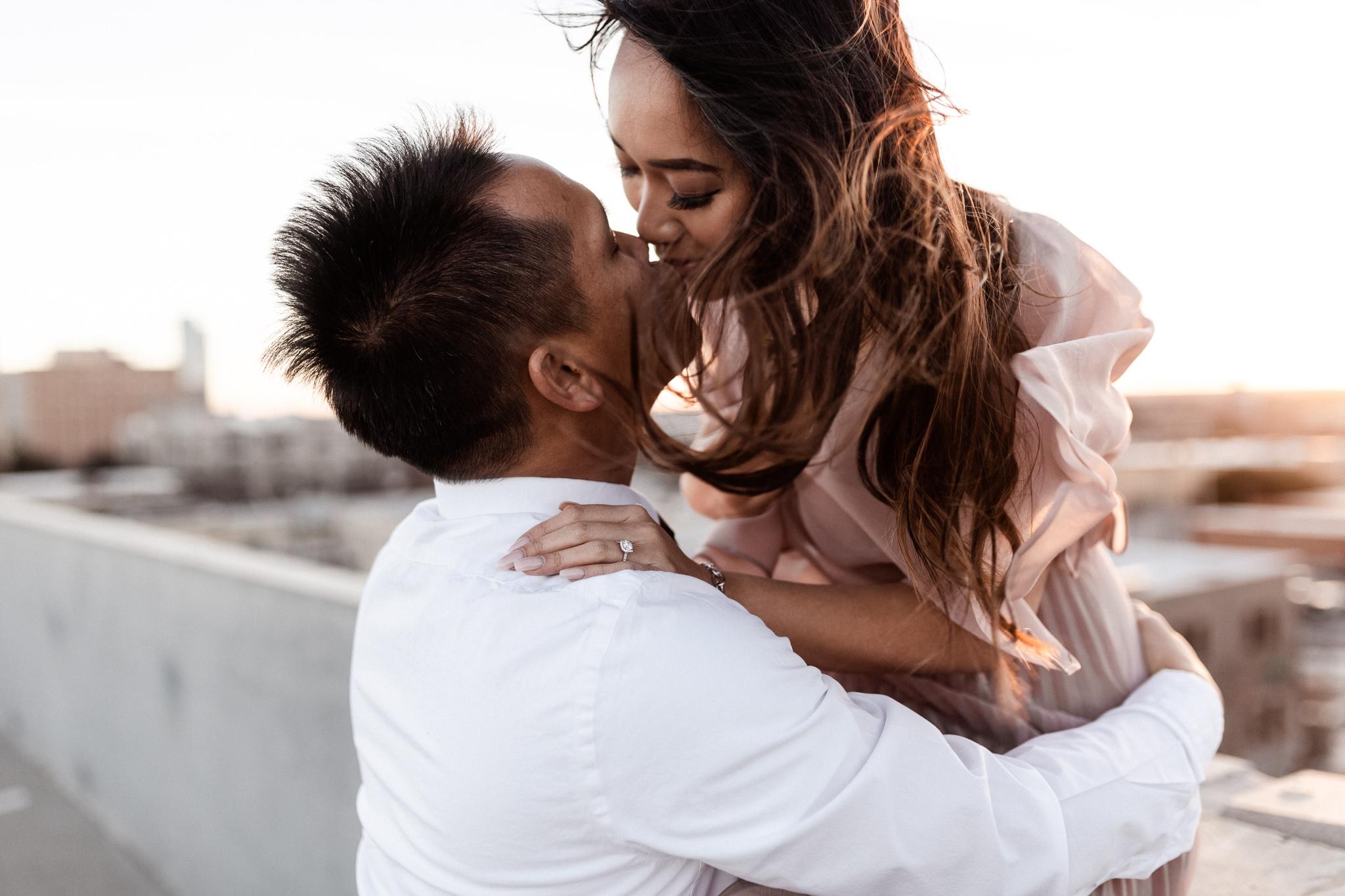 Hieu + Teresa | Colorful Romantic Downtown Engagements | Oklahoma Wedding Photographer-63.jpg