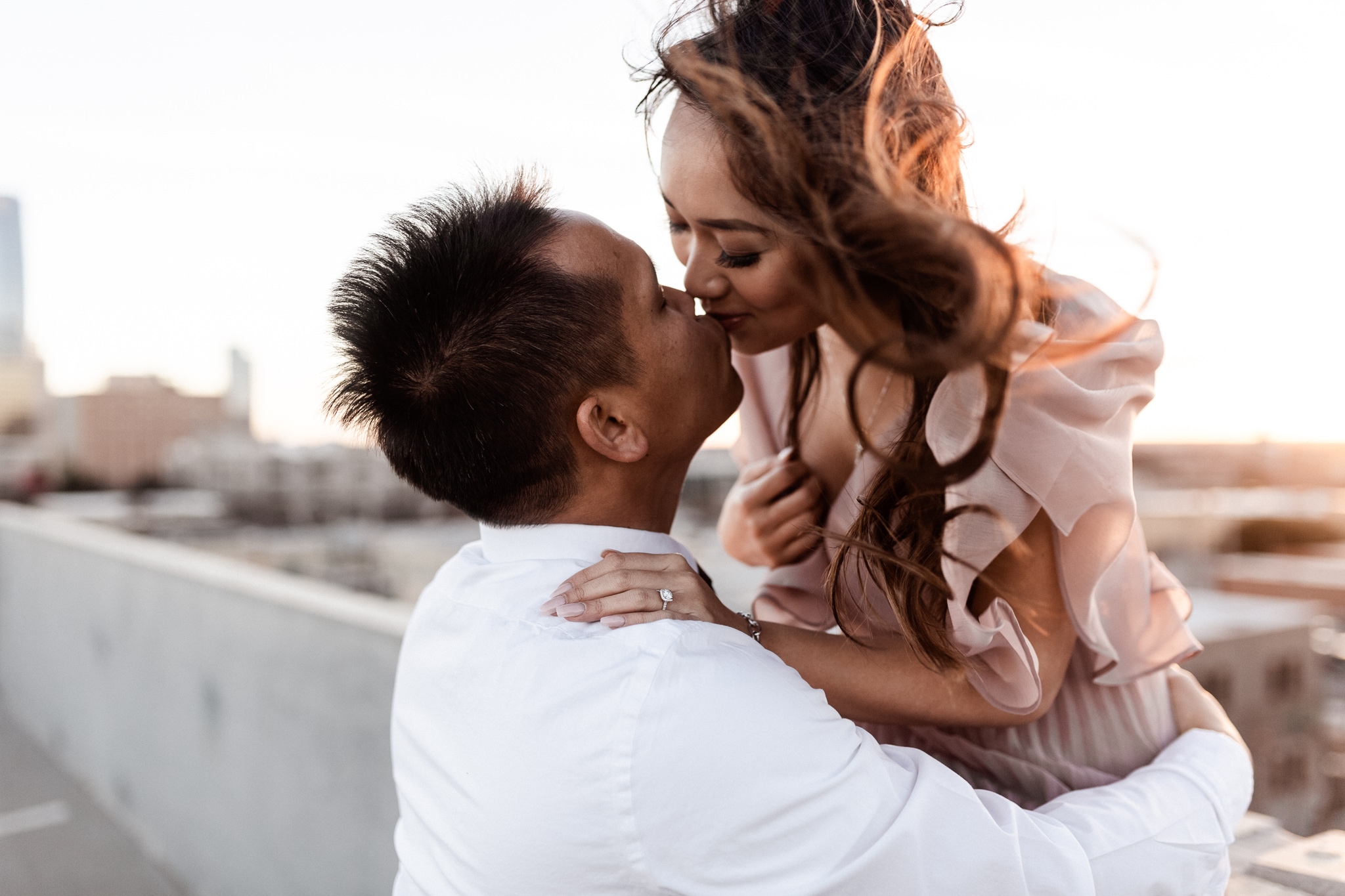 Hieu + Teresa | Colorful Romantic Downtown Engagements | Oklahoma Wedding Photographer-64.jpg