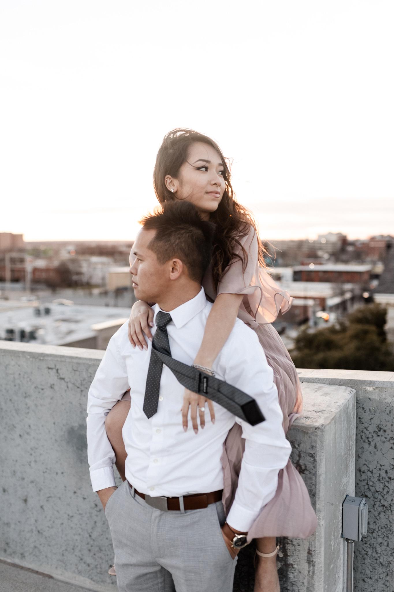 Hieu + Teresa | Colorful Romantic Downtown Engagements | Oklahoma Wedding Photographer-65.jpg