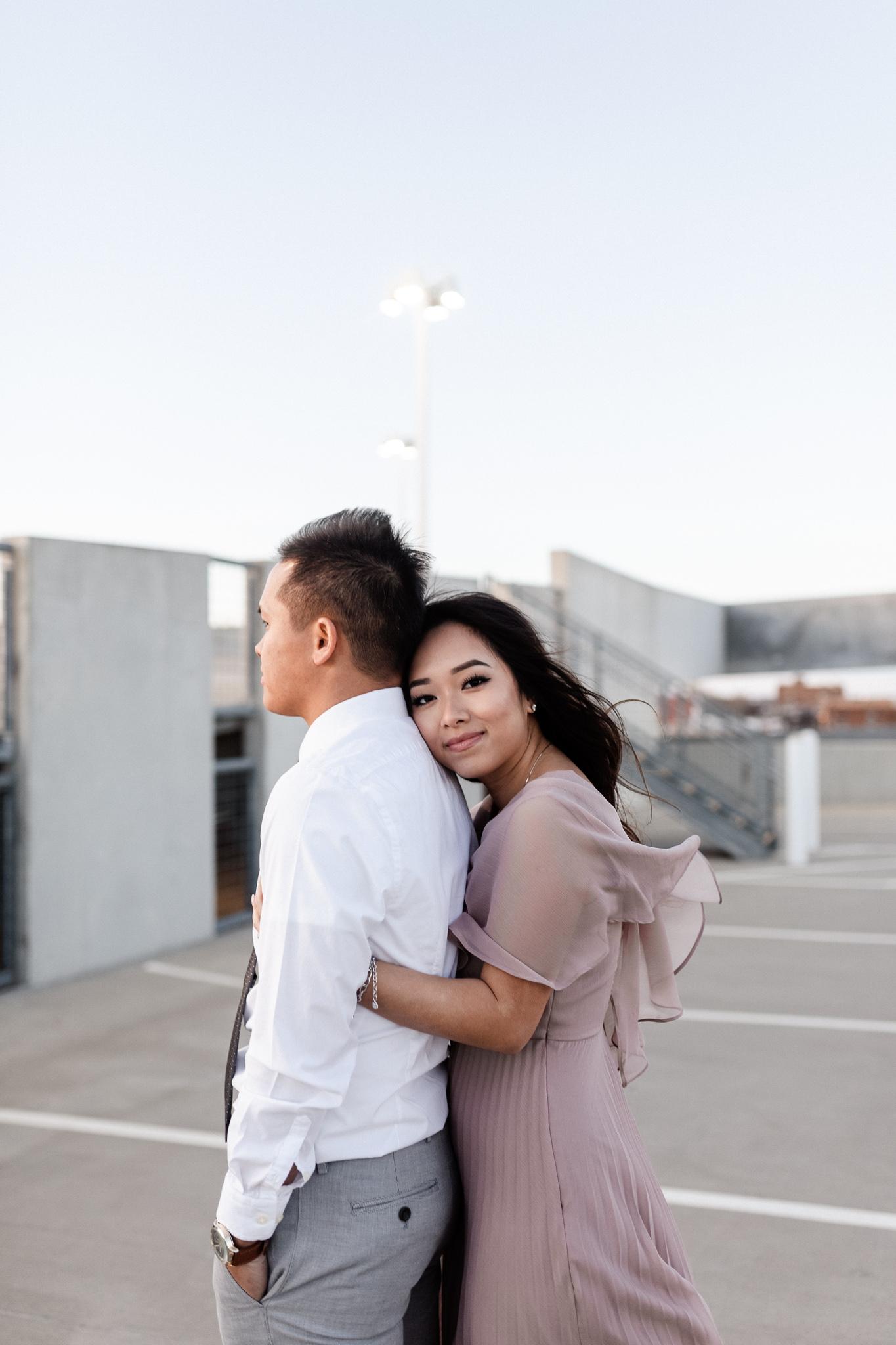 Hieu + Teresa | Colorful Romantic Downtown Engagements | Oklahoma Wedding Photographer-68.jpg