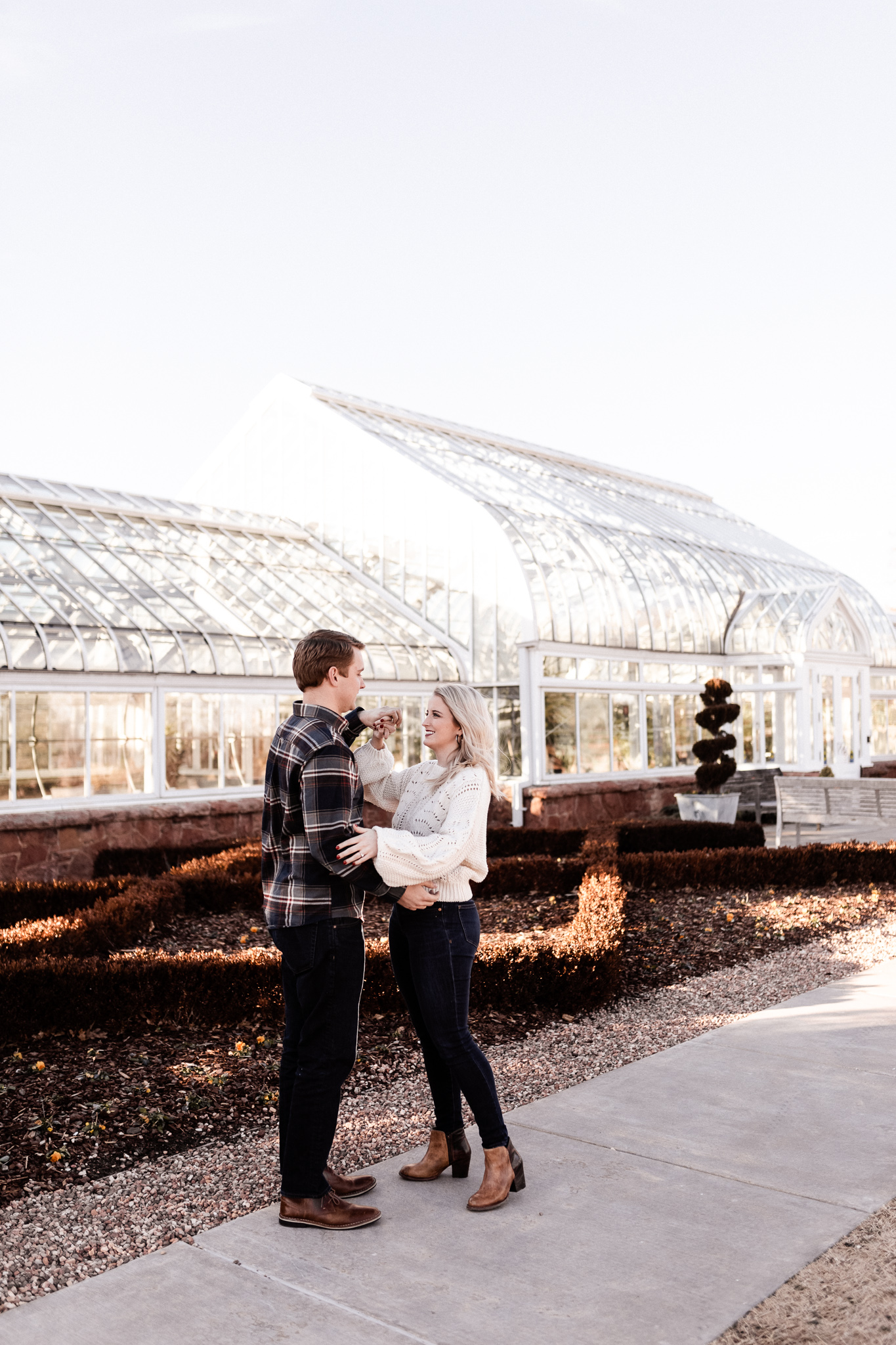 Foster + Alexa | Spring Garden Engagements | Oklahoma Wedding Photographer-2.jpg