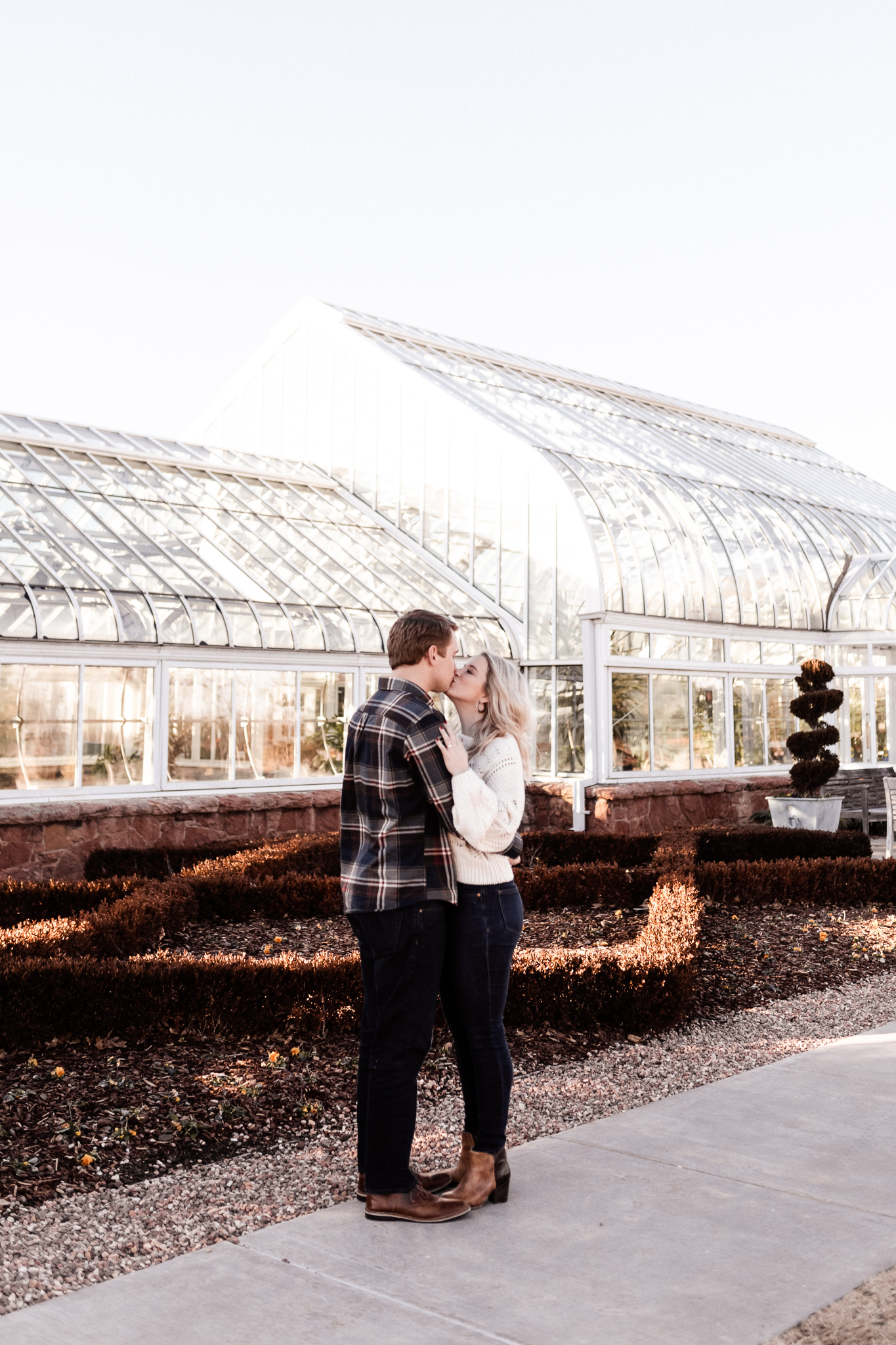 Foster + Alexa | Spring Garden Engagements | Oklahoma Wedding Photographer-1.jpg