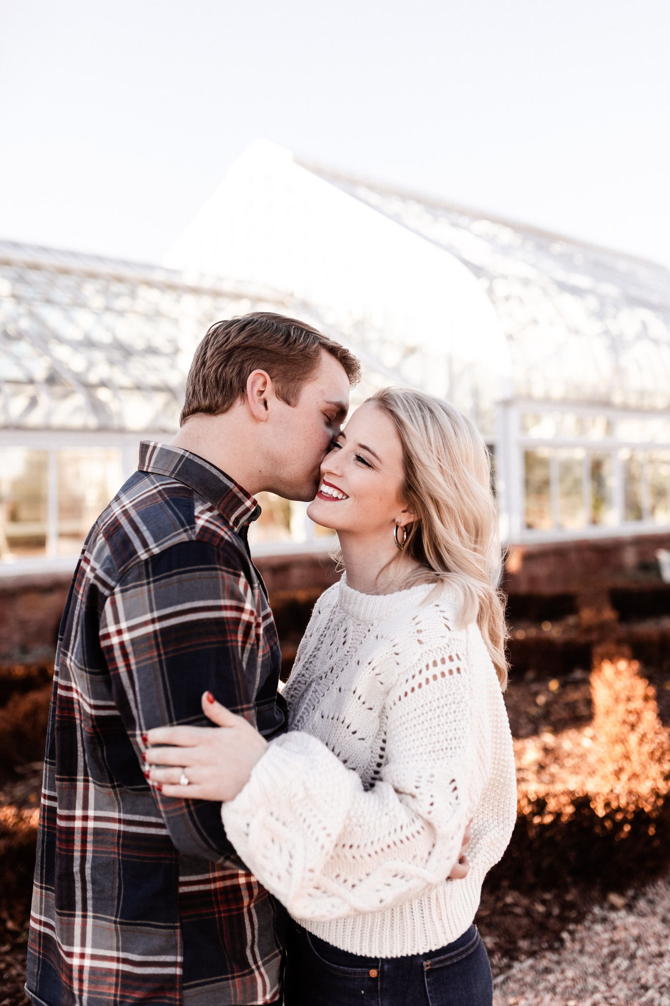 Foster + Alexa | Spring Garden Engagements | Oklahoma Wedding Photographer-4.jpg