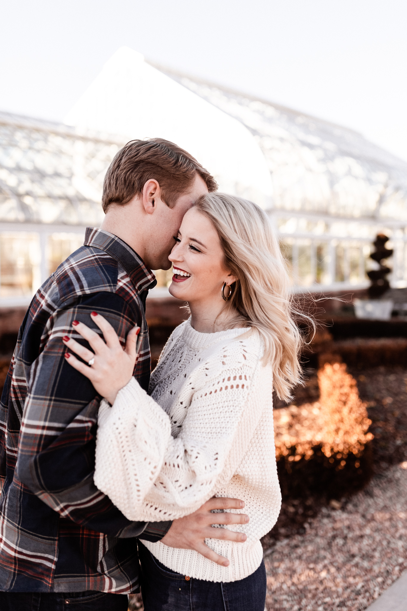 Foster + Alexa | Spring Garden Engagements | Oklahoma Wedding Photographer-5.jpg