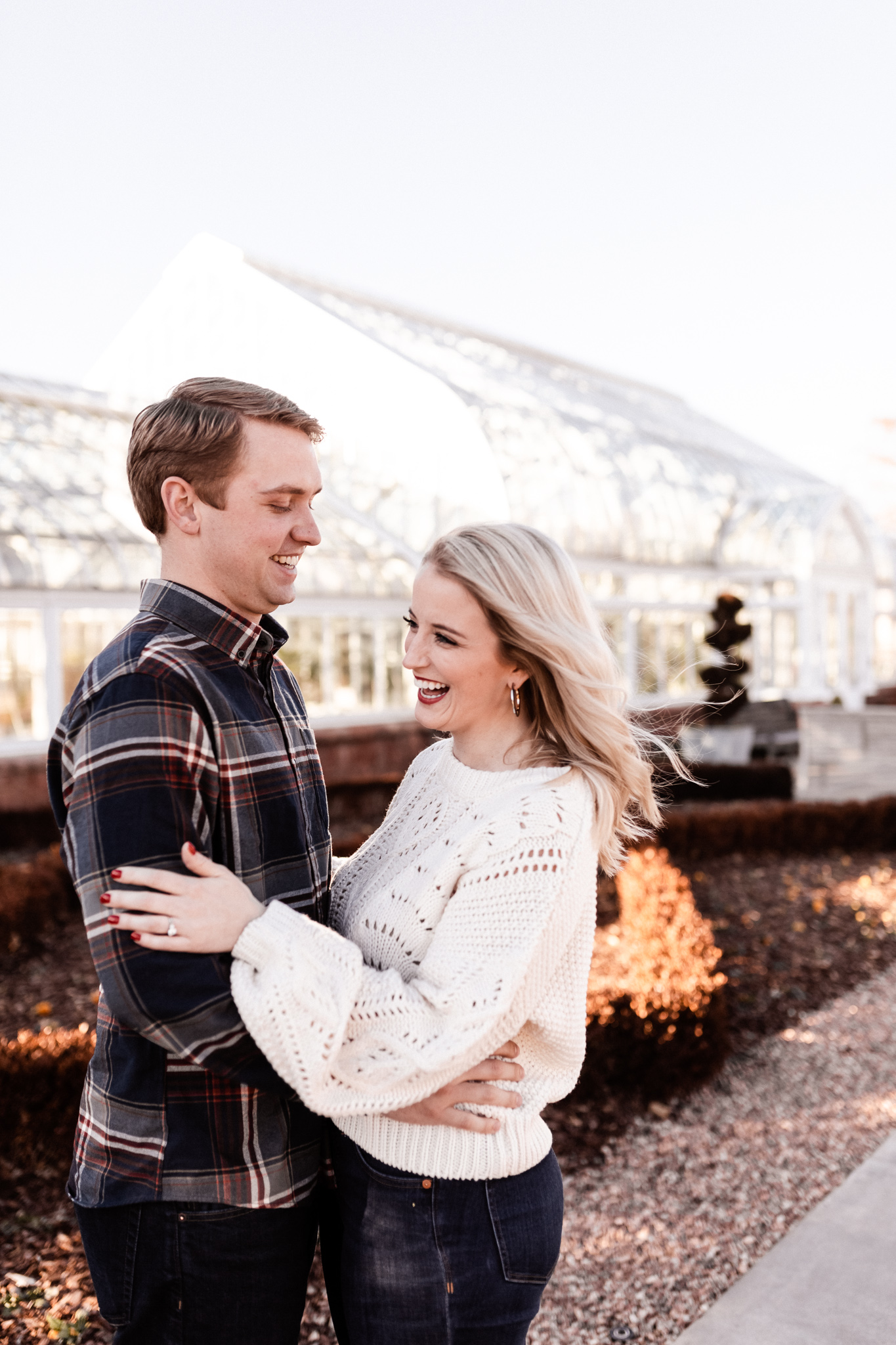Foster + Alexa | Spring Garden Engagements | Oklahoma Wedding Photographer-8.jpg