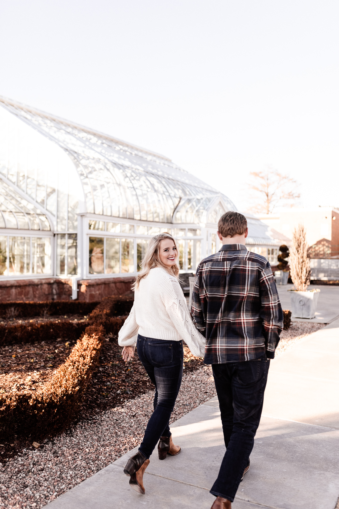 Foster + Alexa | Spring Garden Engagements | Oklahoma Wedding Photographer-11.jpg