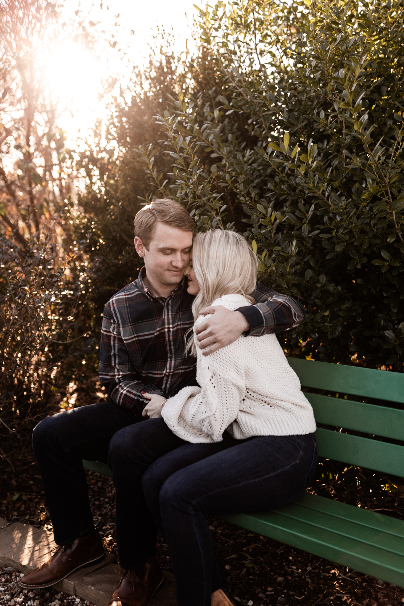 Foster + Alexa | Spring Garden Engagements | Oklahoma Wedding Photographer-15.jpg