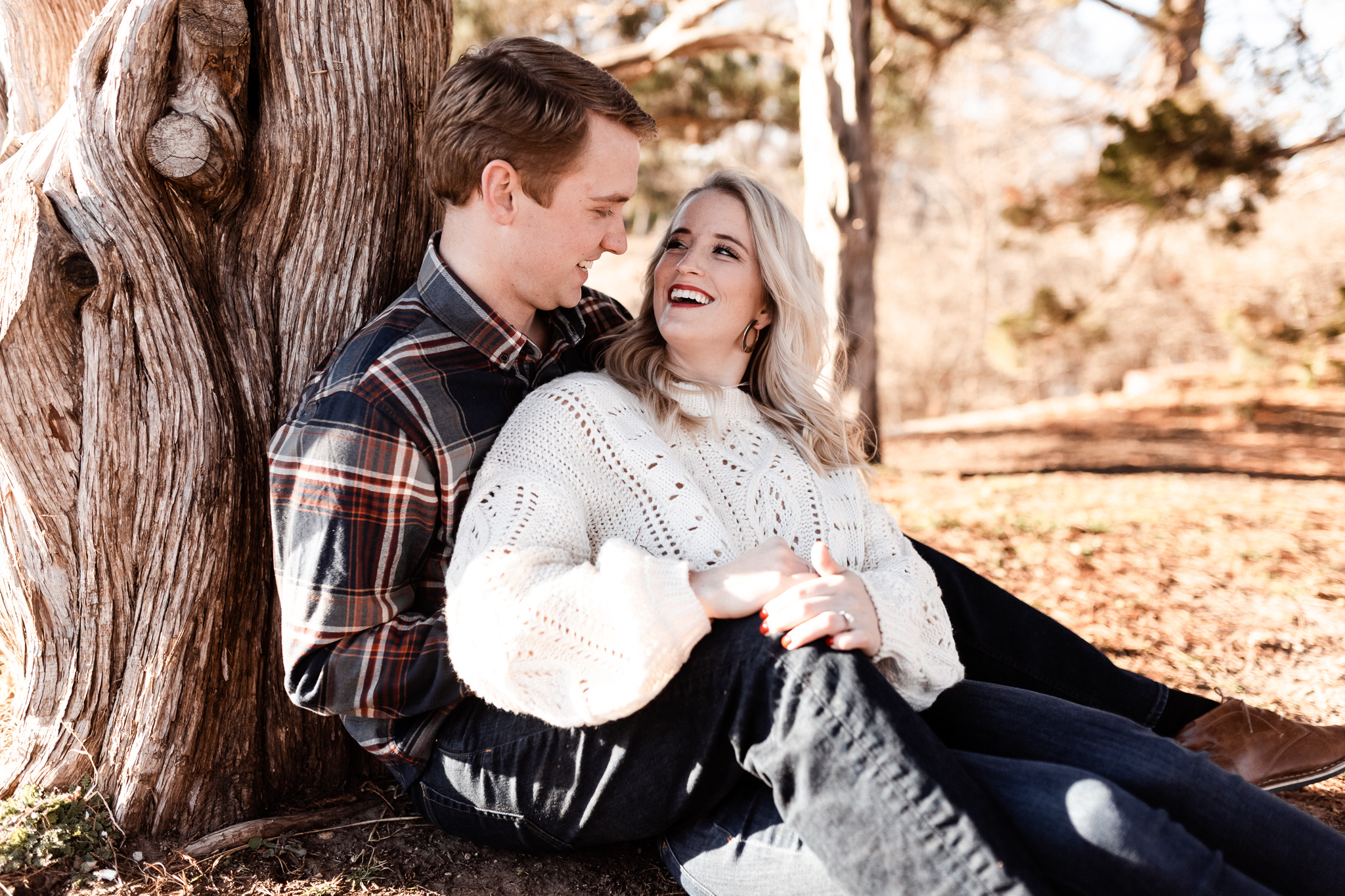 Foster + Alexa | Spring Garden Engagements | Oklahoma Wedding Photographer-21.jpg