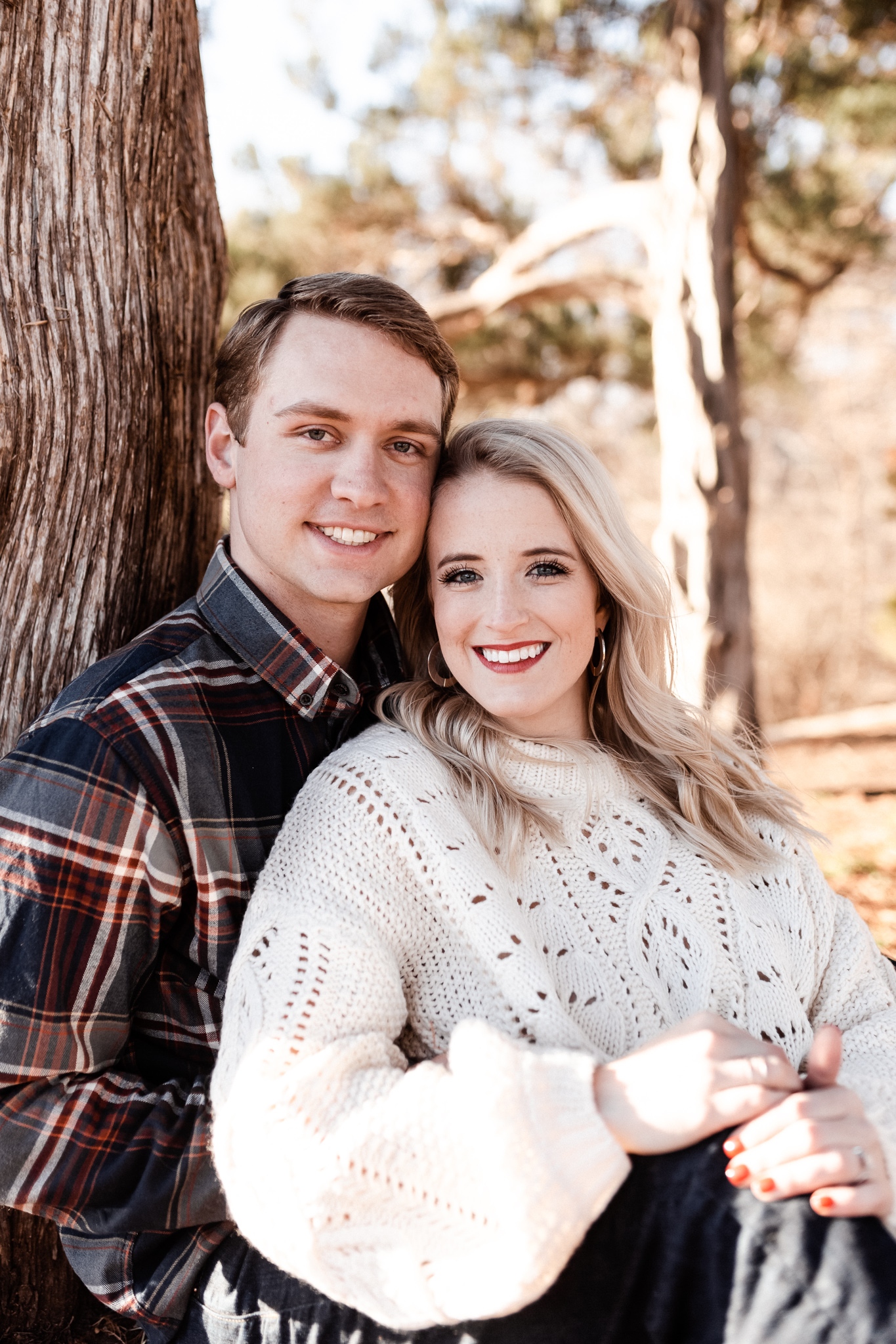 Foster + Alexa | Spring Garden Engagements | Oklahoma Wedding Photographer-23.jpg
