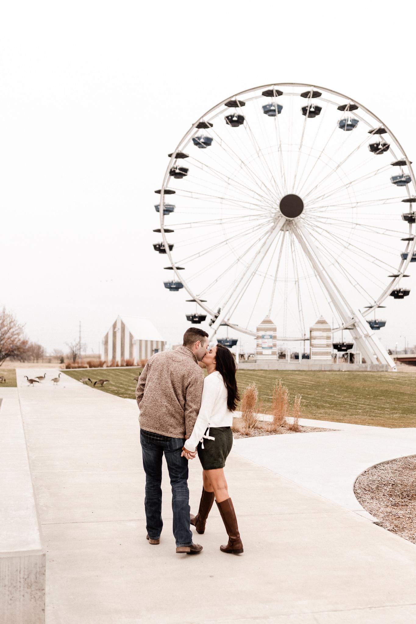 Jake + Lindsey | Fun Ferris Wheel Anniversary | Oklahoma Wedding Photographer-12.jpg