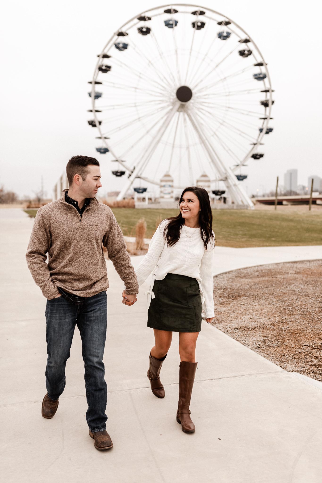 Jake + Lindsey | Fun Ferris Wheel Anniversary | Oklahoma Wedding Photographer-13.jpg