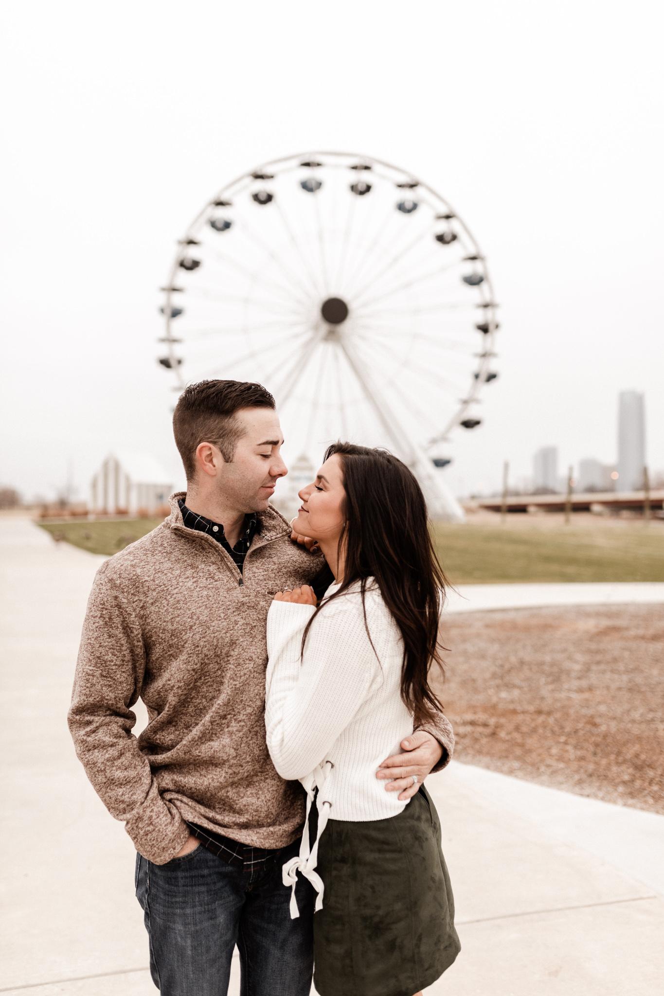 Jake + Lindsey | Fun Ferris Wheel Anniversary | Oklahoma Wedding Photographer-14.jpg
