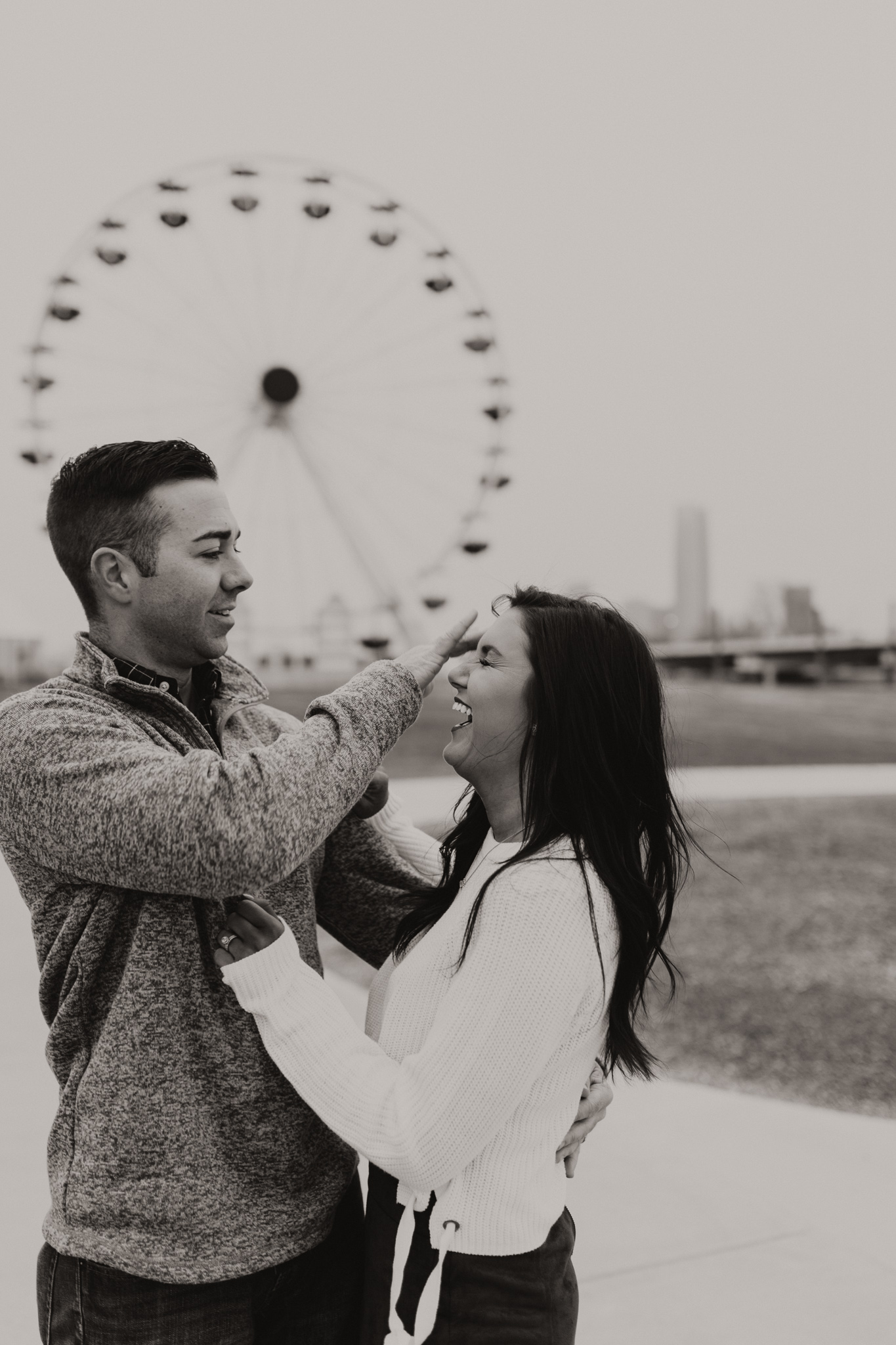 Jake + Lindsey | Fun Ferris Wheel Anniversary | Oklahoma Wedding Photographer-16.jpg