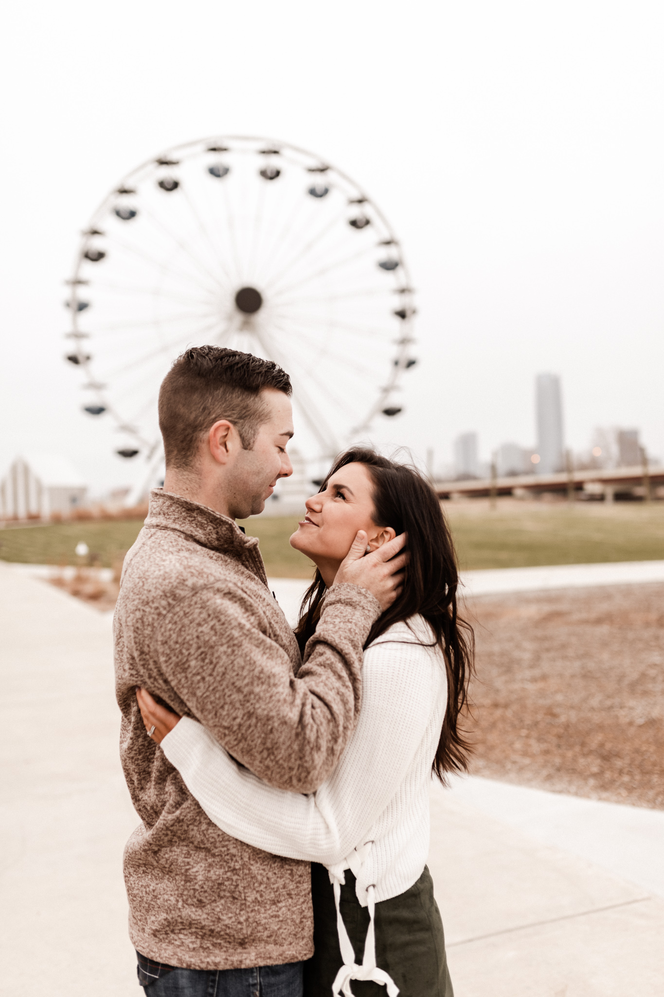 Jake + Lindsey | Fun Ferris Wheel Anniversary | Oklahoma Wedding Photographer-19.jpg