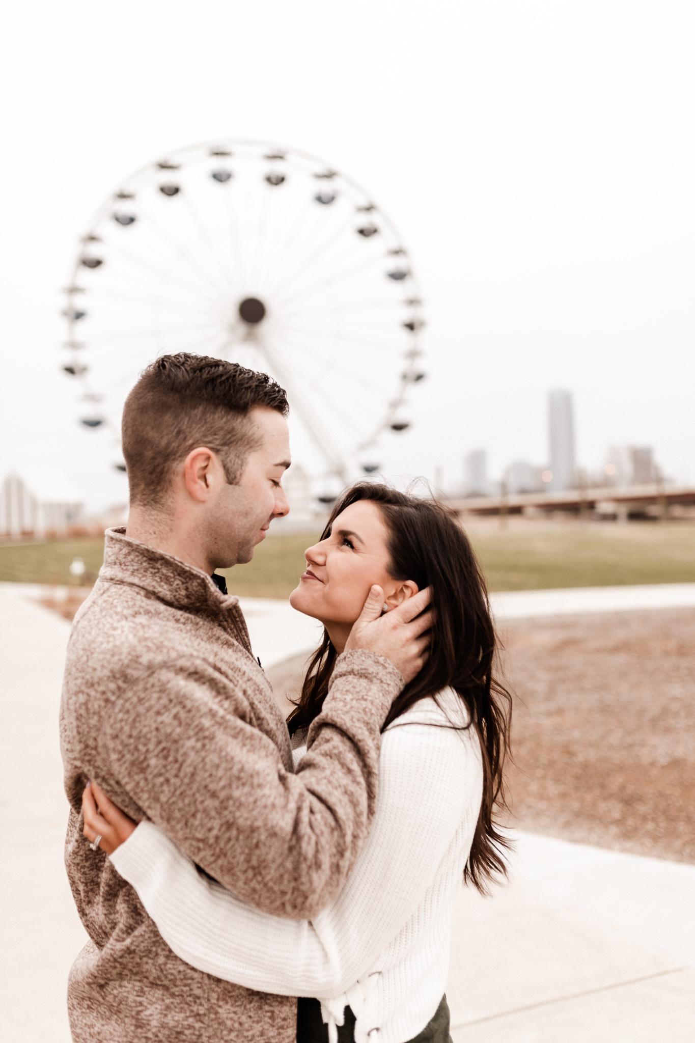 Jake + Lindsey | Fun Ferris Wheel Anniversary | Oklahoma Wedding Photographer-20.jpg