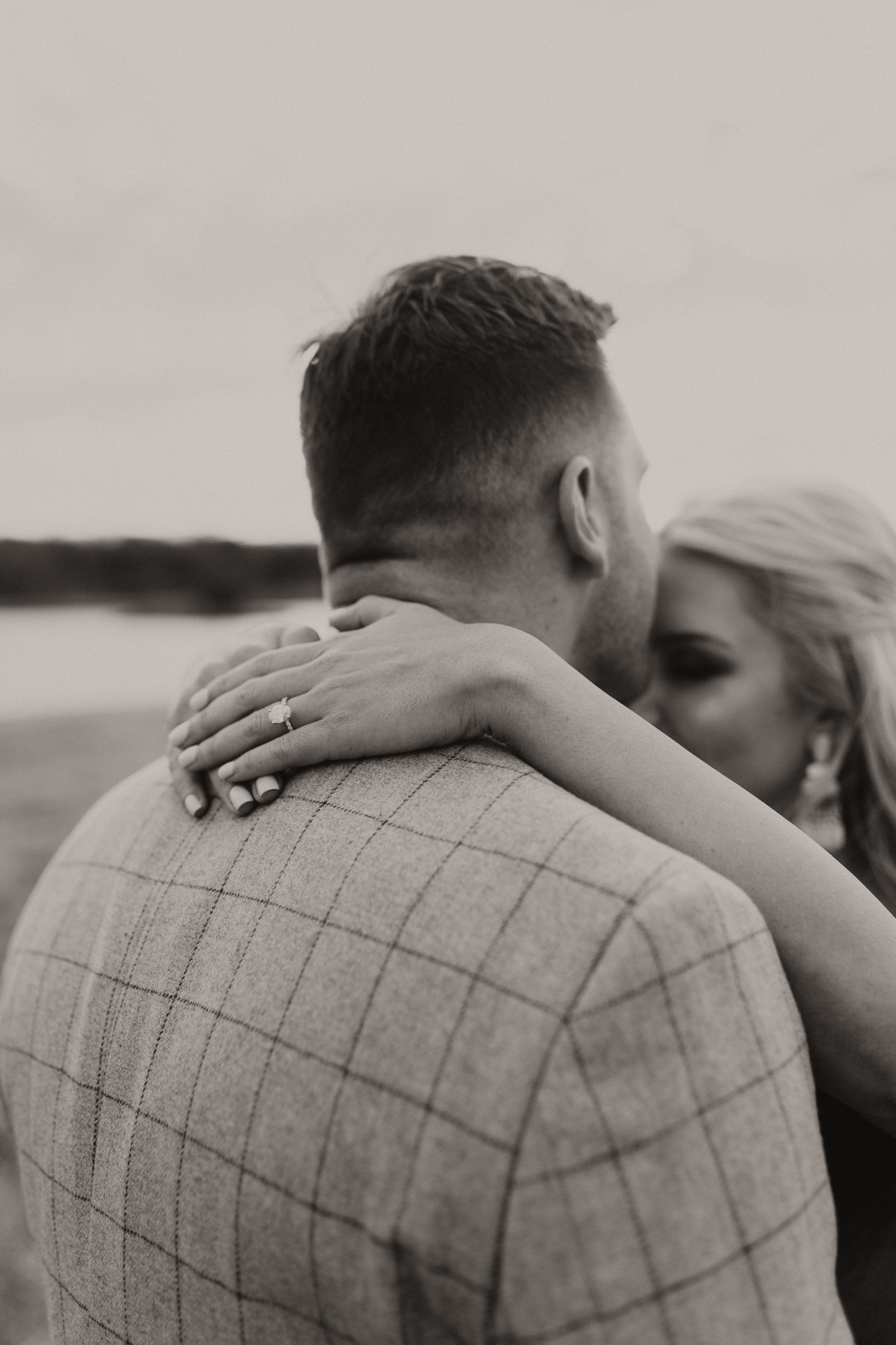 Wade + Stephanie | Warm Open Field Engagements | Oklahoma Wedding Photographer-11.jpg