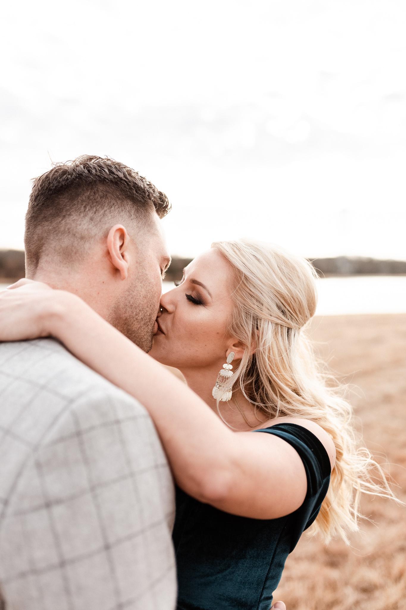 Wade + Stephanie | Warm Open Field Engagements | Oklahoma Wedding Photographer-12.jpg
