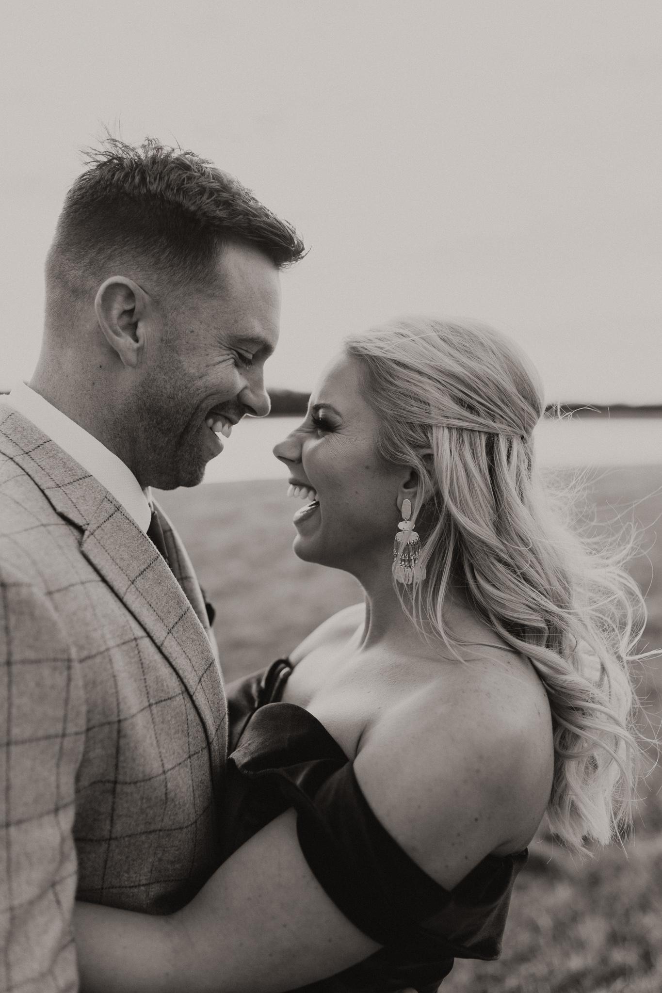 Wade + Stephanie | Warm Open Field Engagements | Oklahoma Wedding Photographer-28.jpg
