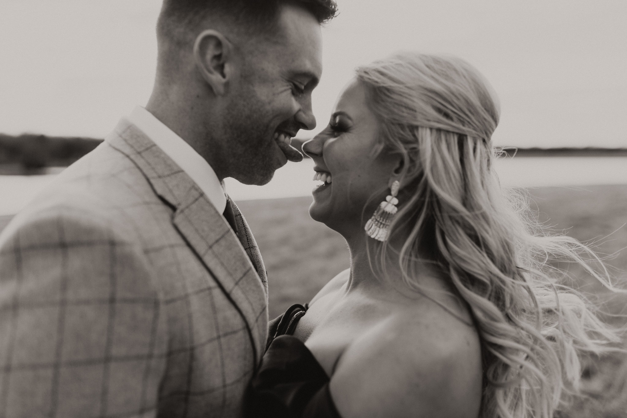Wade + Stephanie | Warm Open Field Engagements | Oklahoma Wedding Photographer-29.jpg