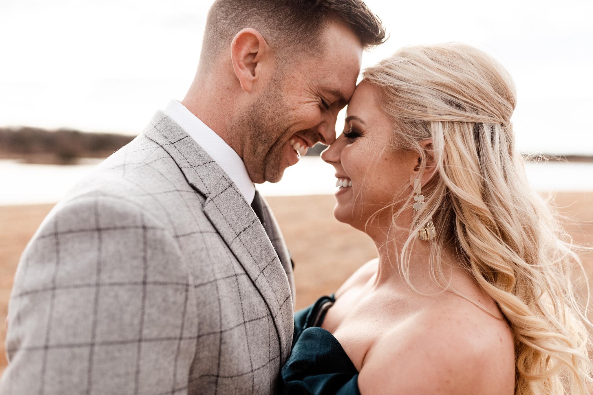Wade + Stephanie | Warm Open Field Engagements | Oklahoma Wedding Photographer-30.jpg