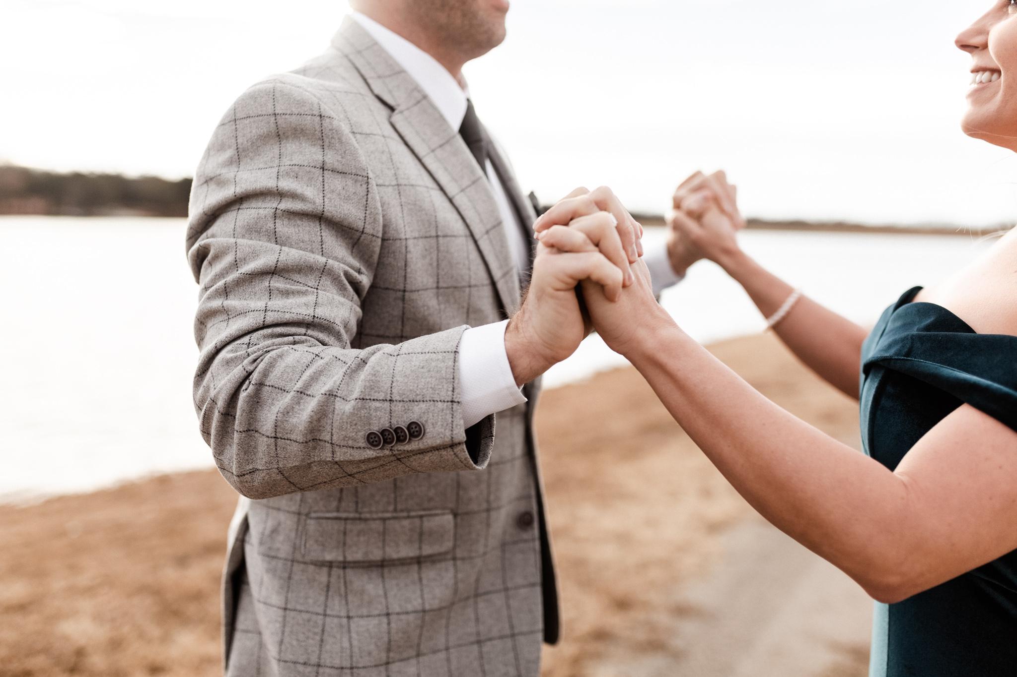 Wade + Stephanie | Warm Open Field Engagements | Oklahoma Wedding Photographer-33.jpg