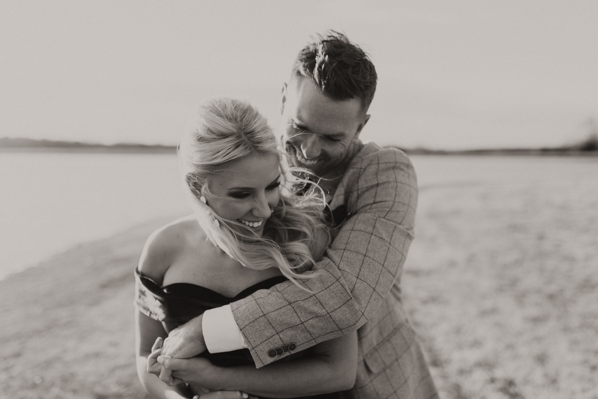 Wade + Stephanie | Warm Open Field Engagements | Oklahoma Wedding Photographer-39.jpg
