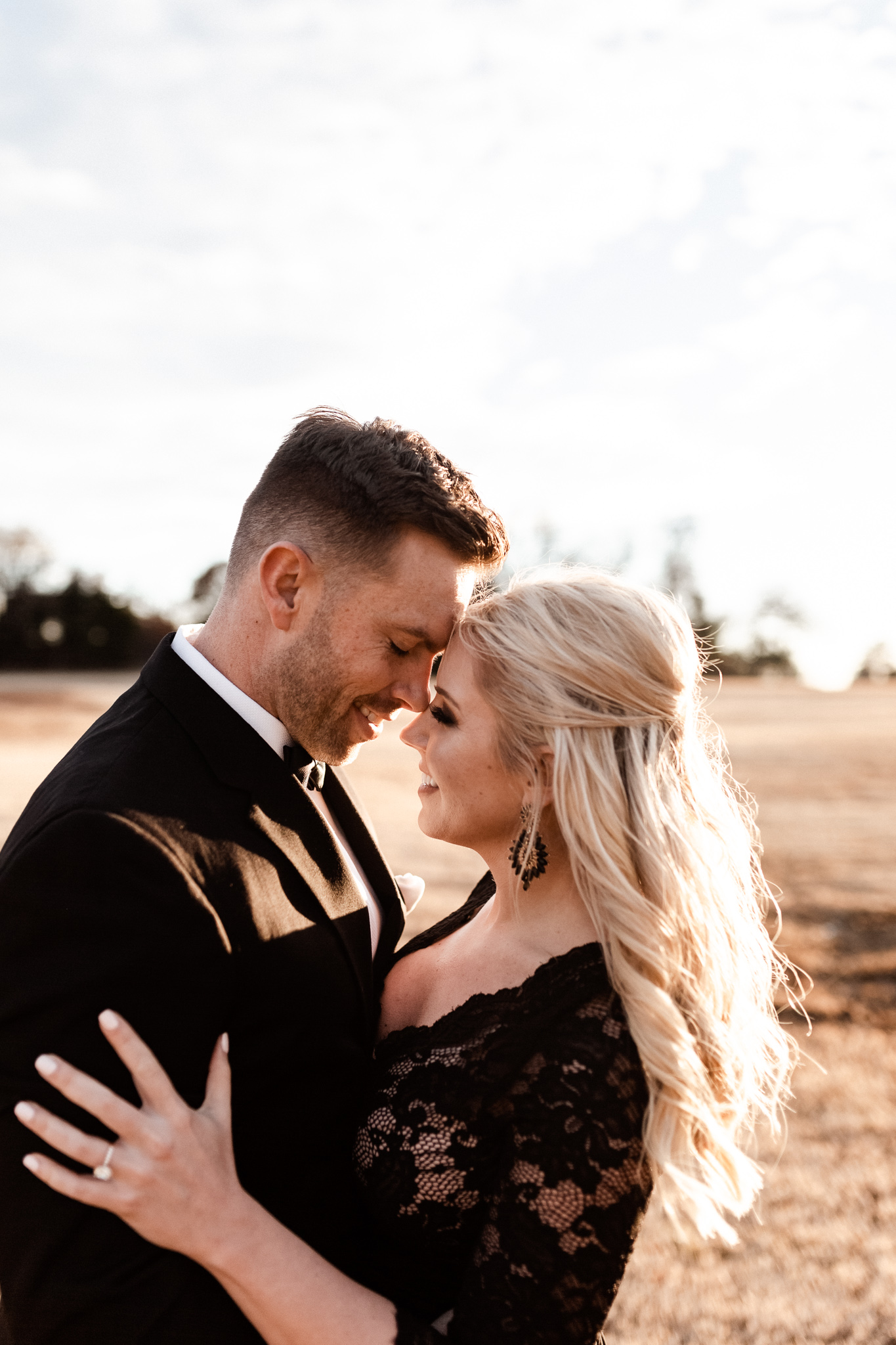 Wade + Stephanie | Warm Open Field Engagements | Oklahoma Wedding Photographer-41.jpg