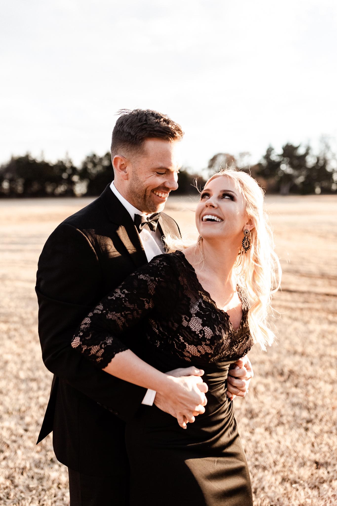 Wade + Stephanie | Warm Open Field Engagements | Oklahoma Wedding Photographer-43.jpg