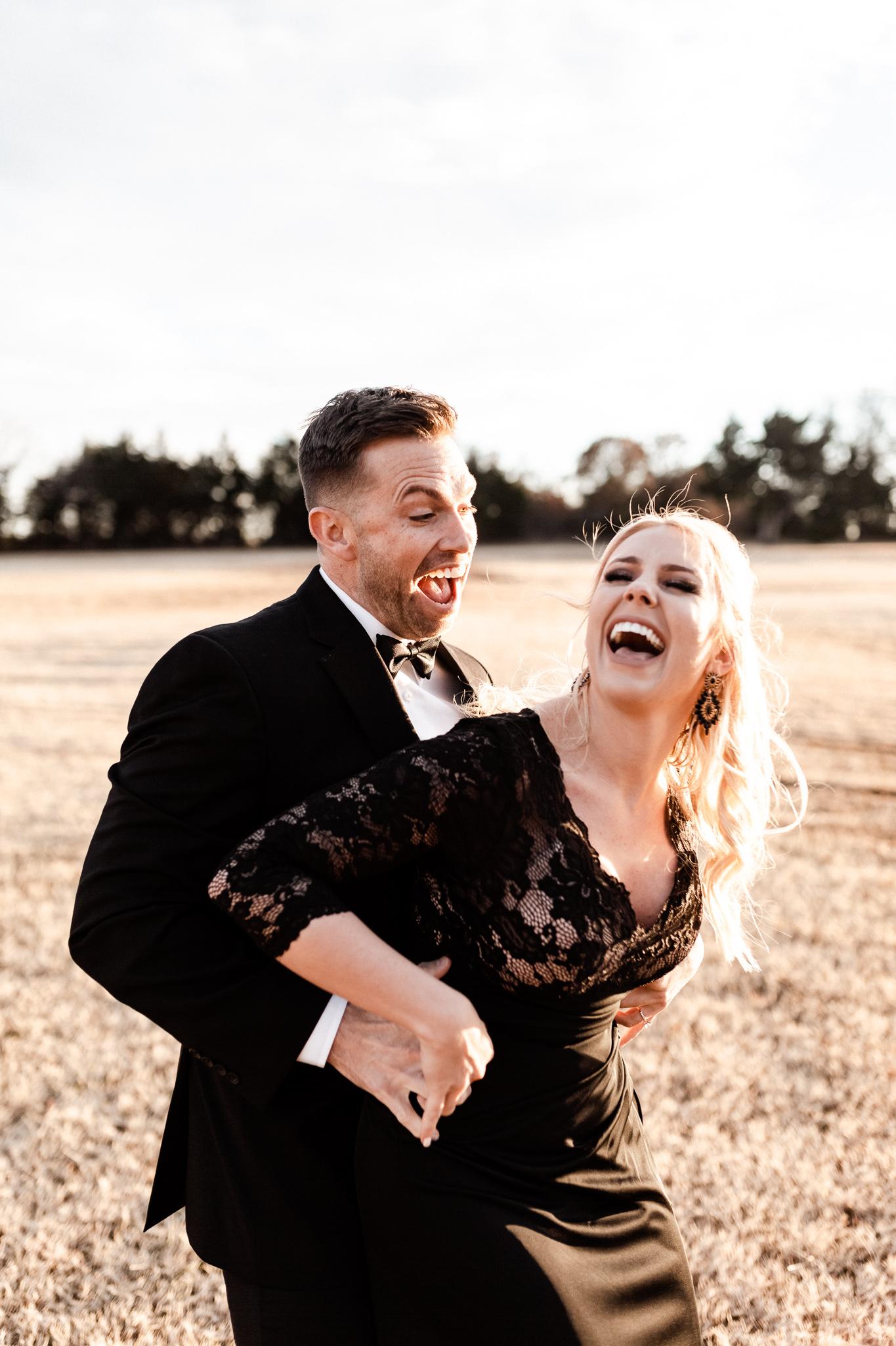 Wade + Stephanie | Warm Open Field Engagements | Oklahoma Wedding Photographer-44.jpg