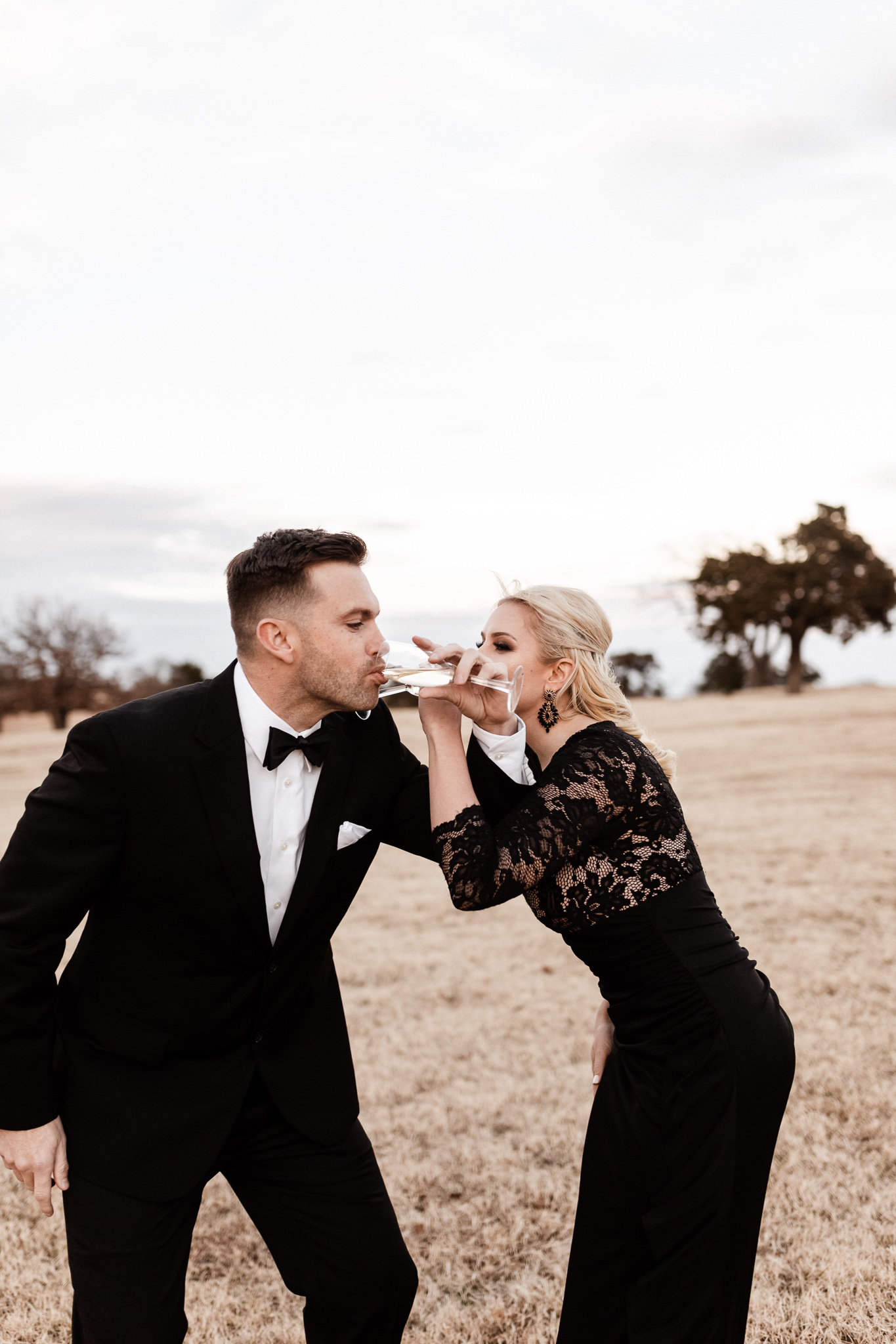 Wade + Stephanie | Warm Open Field Engagements | Oklahoma Wedding Photographer-53.jpg