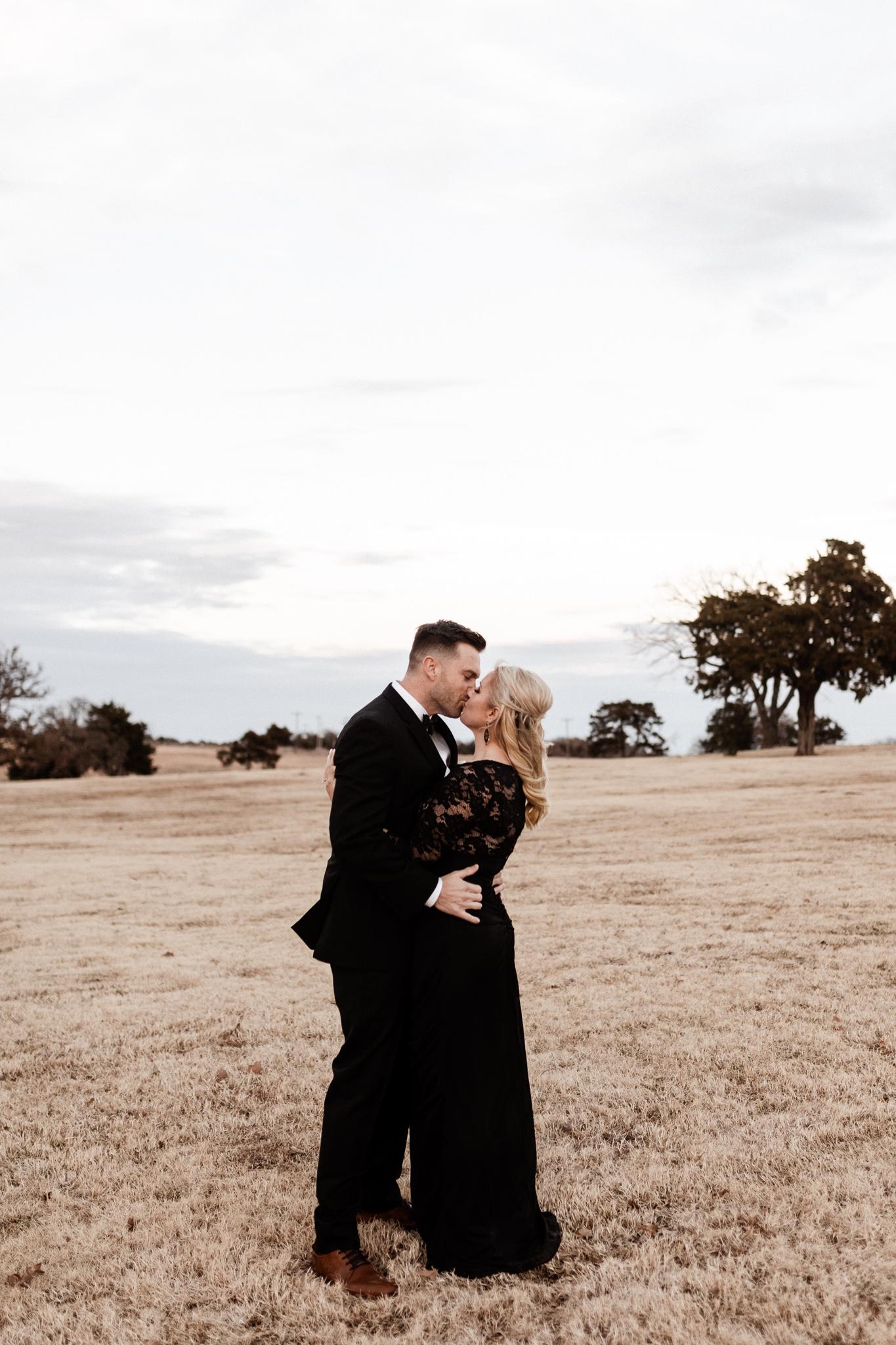 Wade + Stephanie | Warm Open Field Engagements | Oklahoma Wedding Photographer-54.jpg