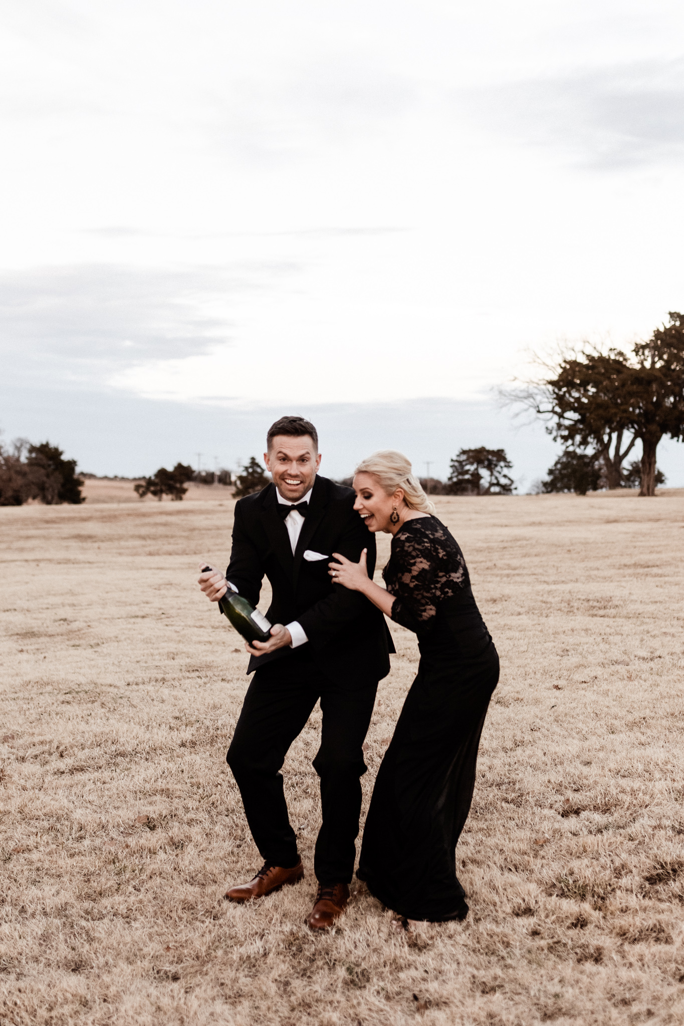 Wade + Stephanie | Warm Open Field Engagements | Oklahoma Wedding Photographer-55.jpg
