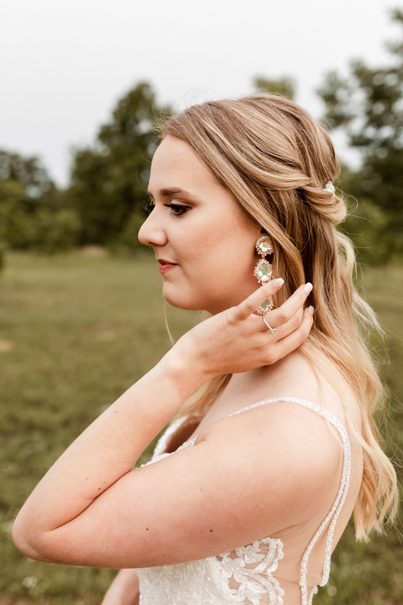 Brittany | Romantic Outdoor Bridals | Oklahoma Wedding Photographer-24.jpg