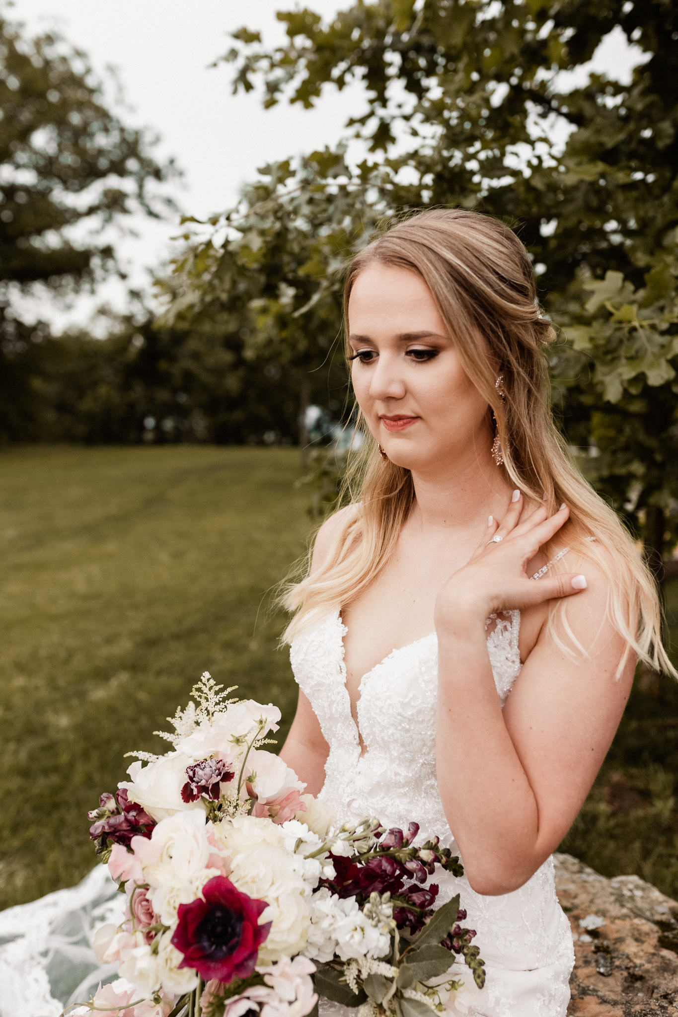 Brittany | Romantic Outdoor Bridals | Oklahoma Wedding Photographer-31.jpg