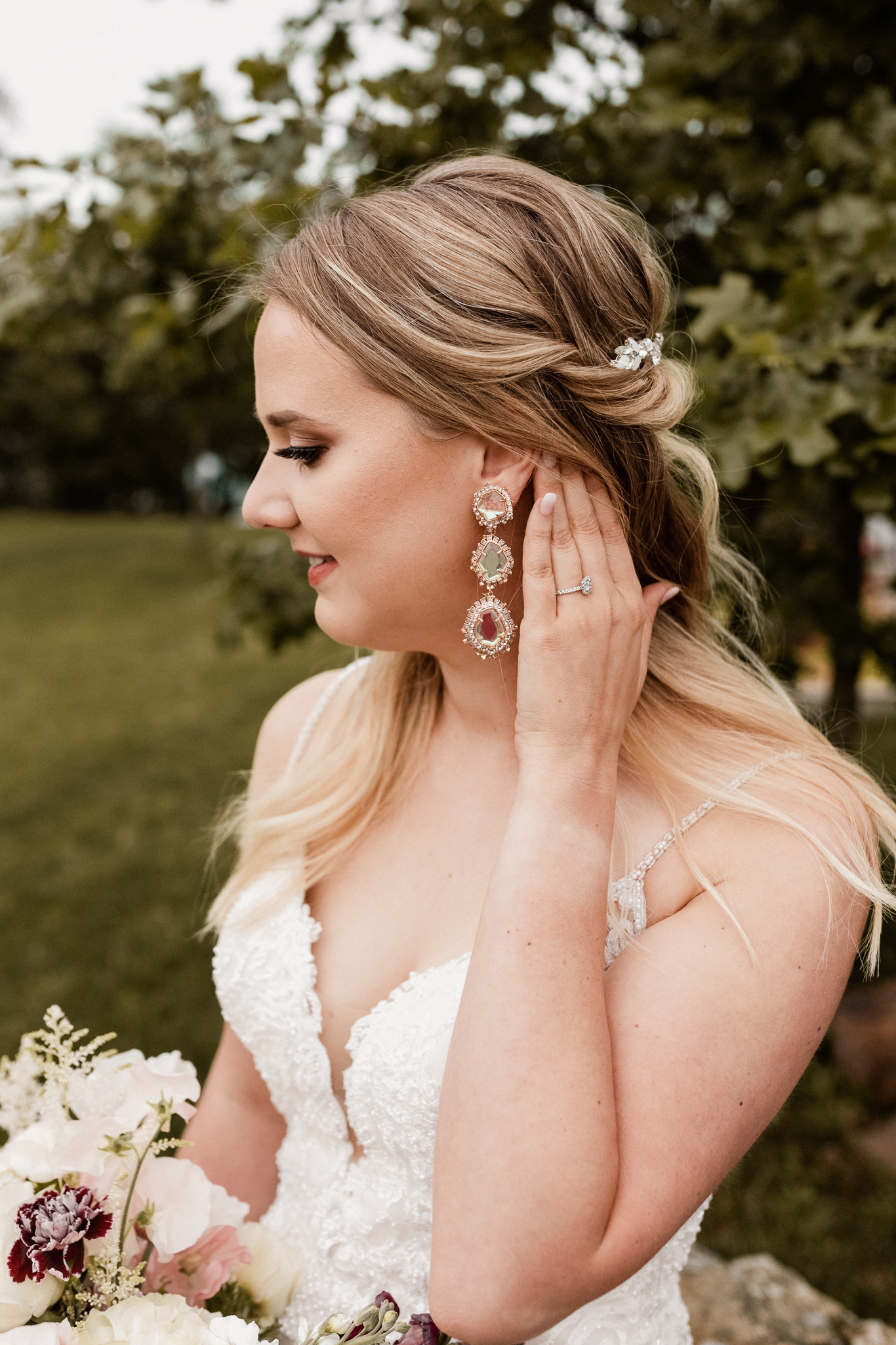 Brittany | Romantic Outdoor Bridals | Oklahoma Wedding Photographer-32.jpg