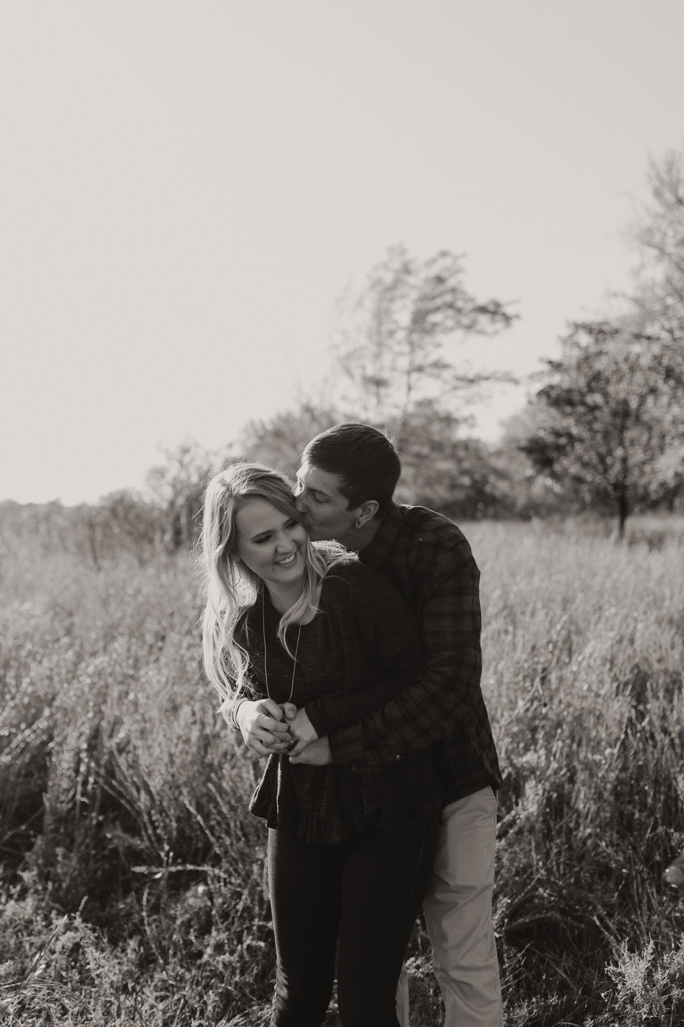 Kyle + Brittany | Fall Lake Engagement Photos | Oklahoma Lifestyle Photographer-1.jpg