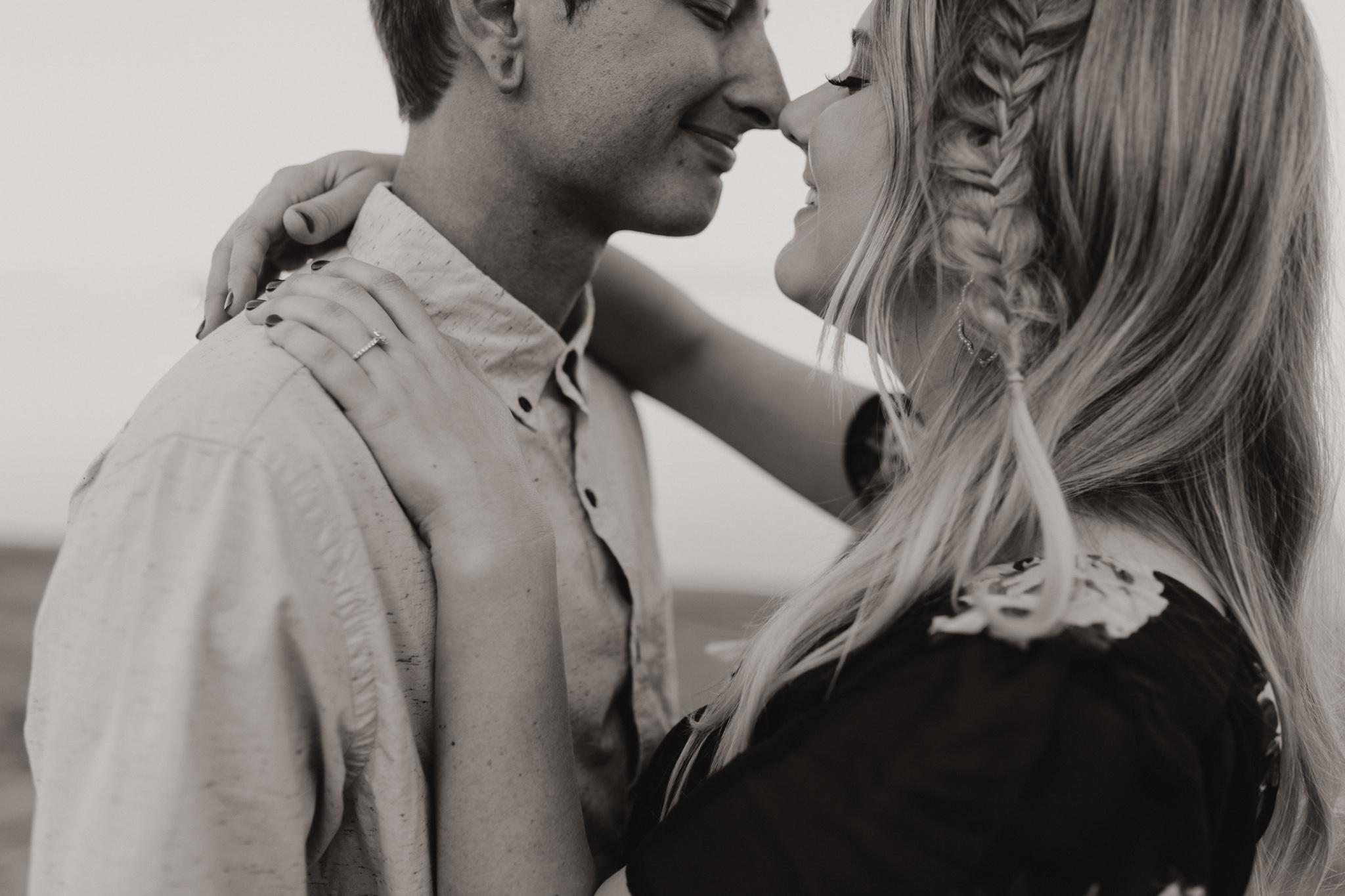 Kyle + Brittany | Fall Lake Engagement Photos | Oklahoma Lifestyle Photographer-8.jpg